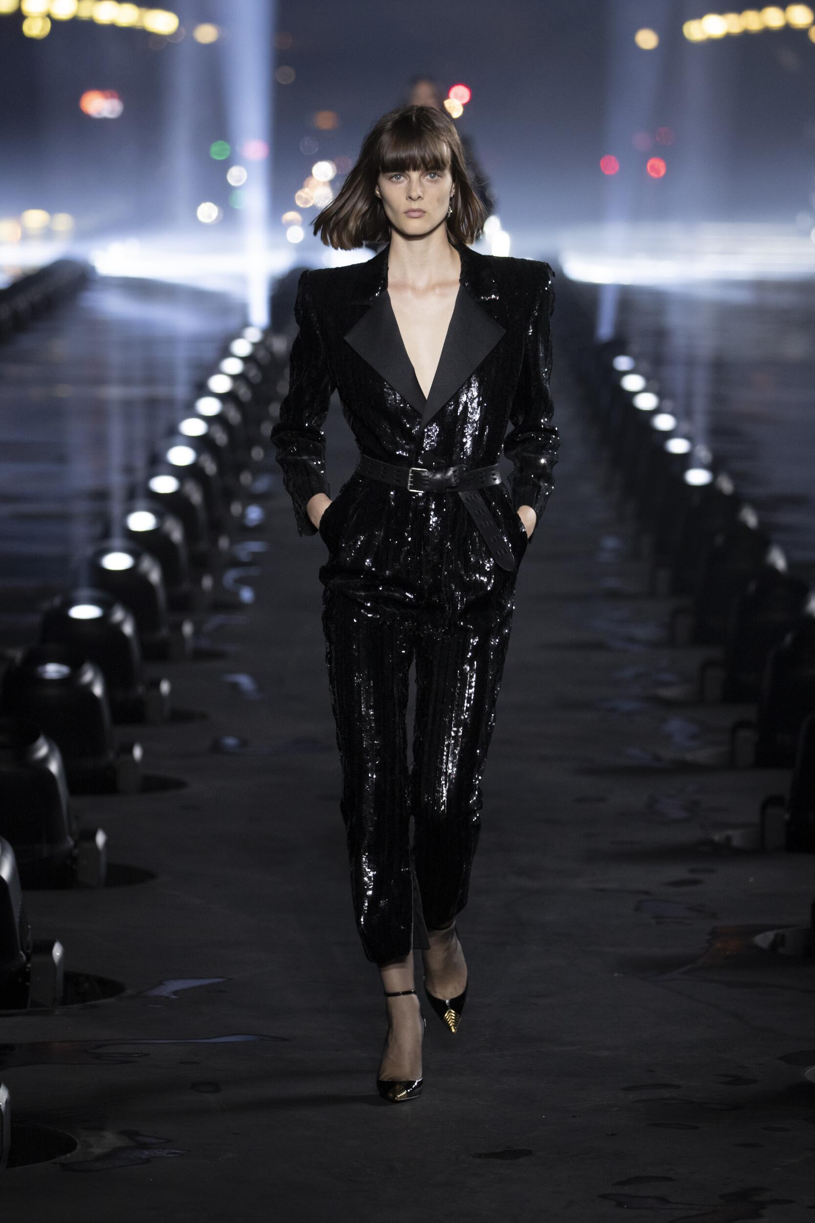 Runway Fashion 2020 Women Style Saint Laurent