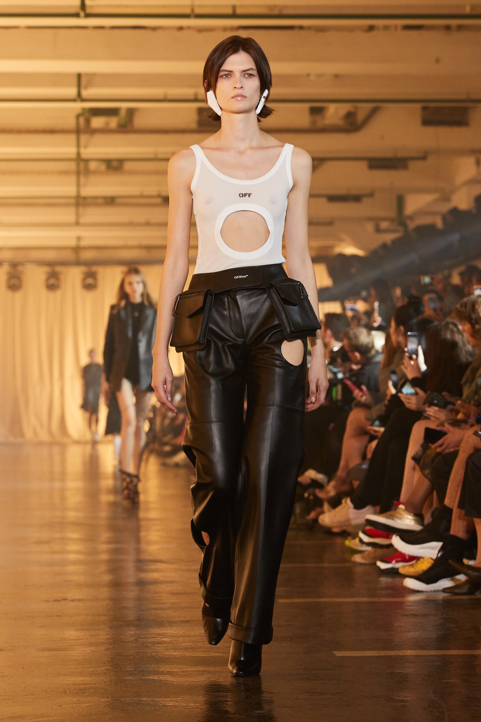 Runway Off White c/o Virgil Abloh Spring Summer 2020 Women's Collection Paris Fashion Week