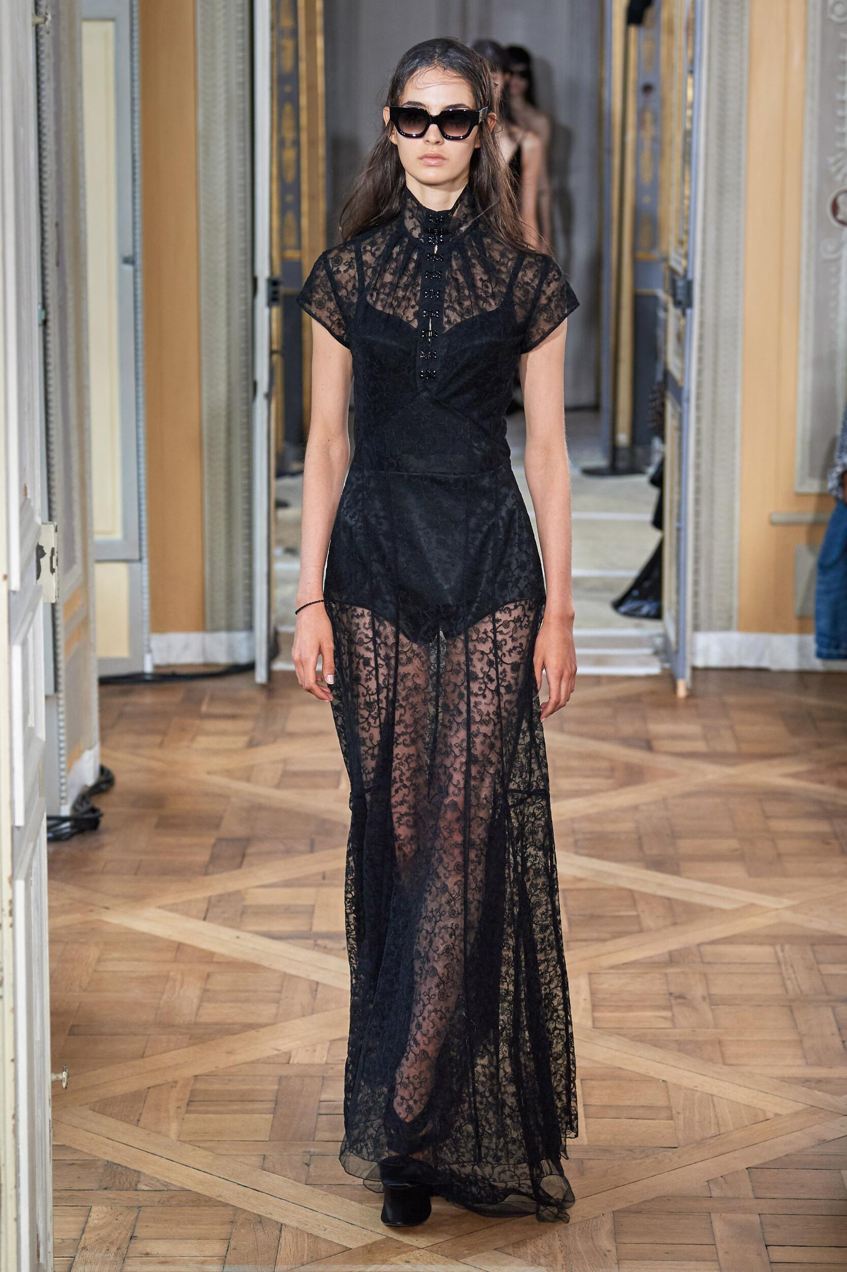 Runway Olivier Theyskens Spring Summer 2020 Women's Collection Paris Fashion Week