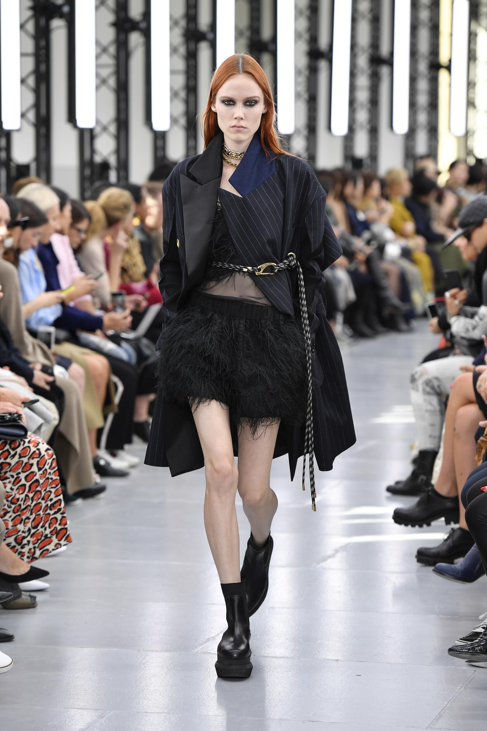 Runway Sacai Spring Summer 2020 Women's Collection Paris Fashion Week