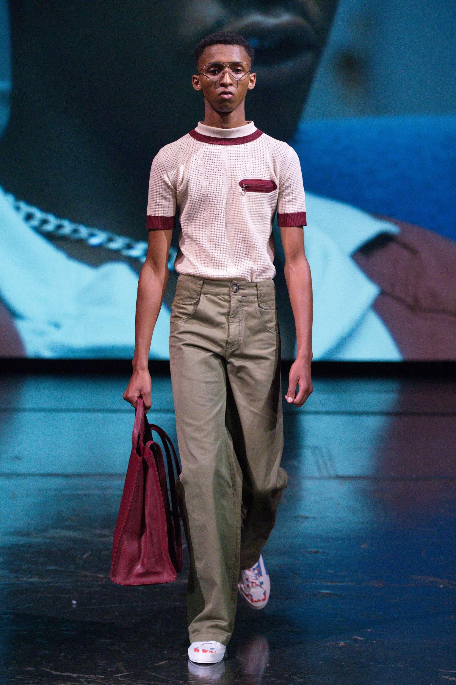 Runway Telfar Spring Summer 2020 Men's Collection Paris Fashion Week