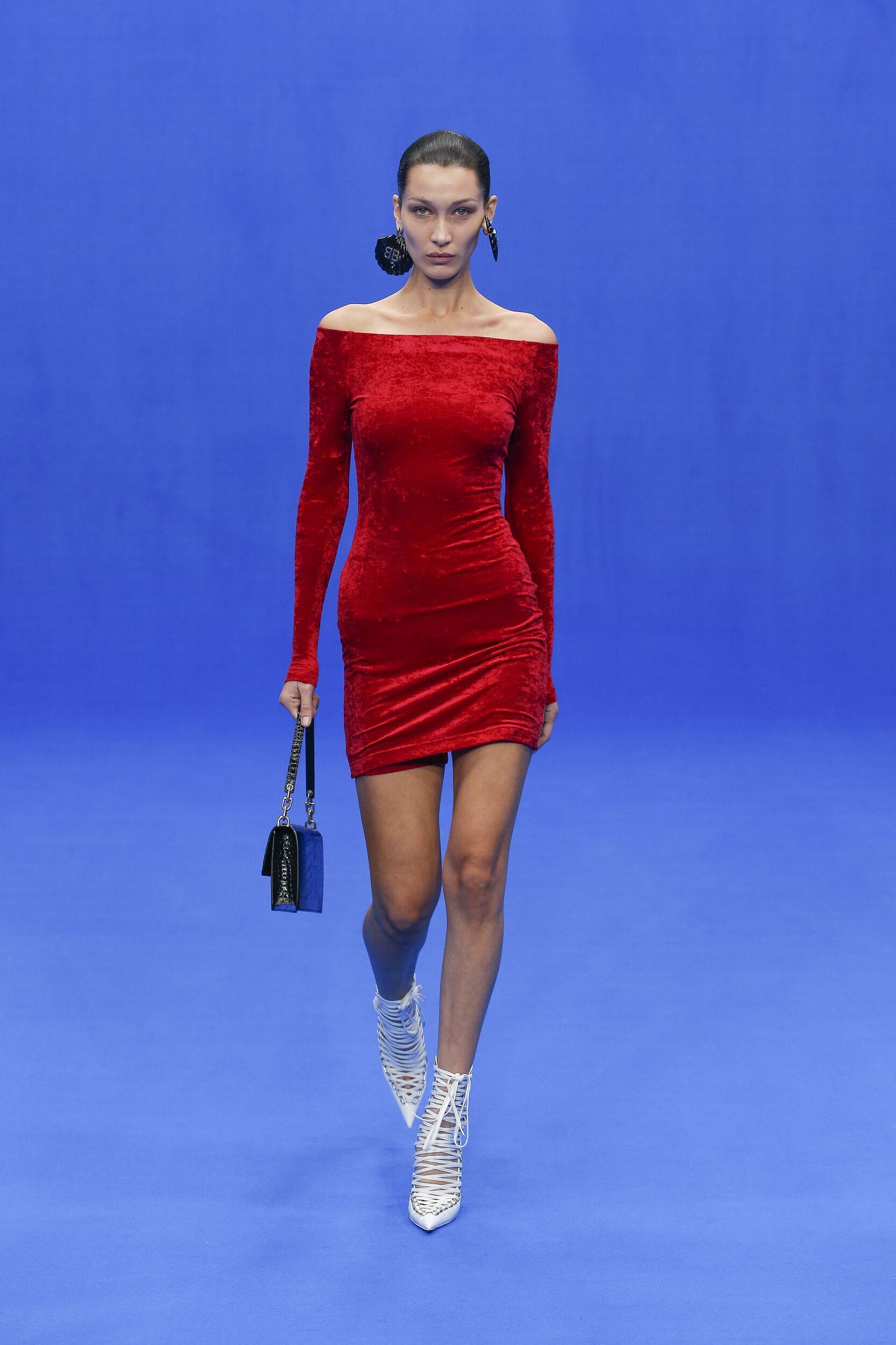 SS 2020 Balenciaga Show Paris Fashion Week Womenswear