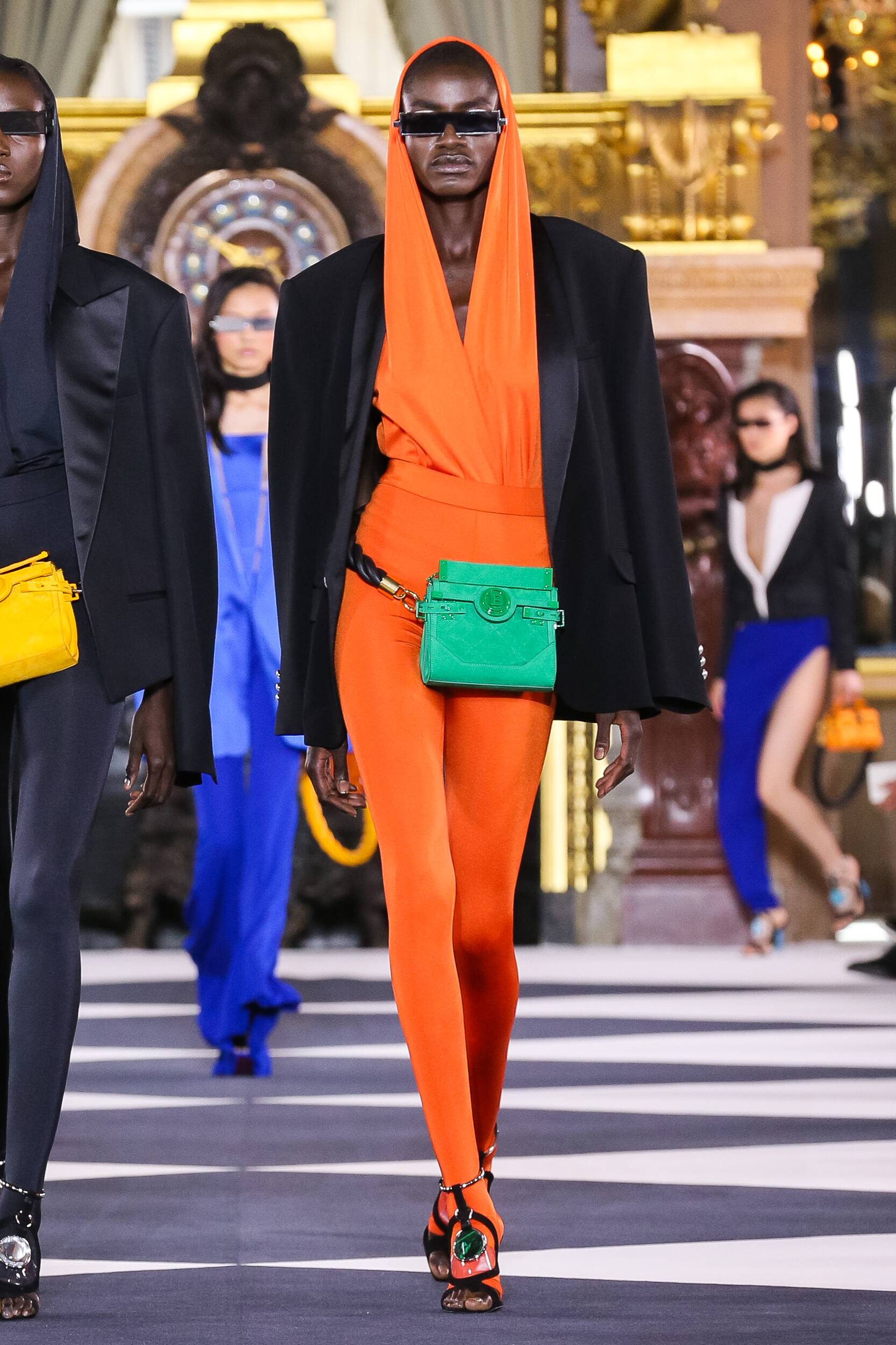 SS 2020 Balmain Fashion Show Paris Fashion Week