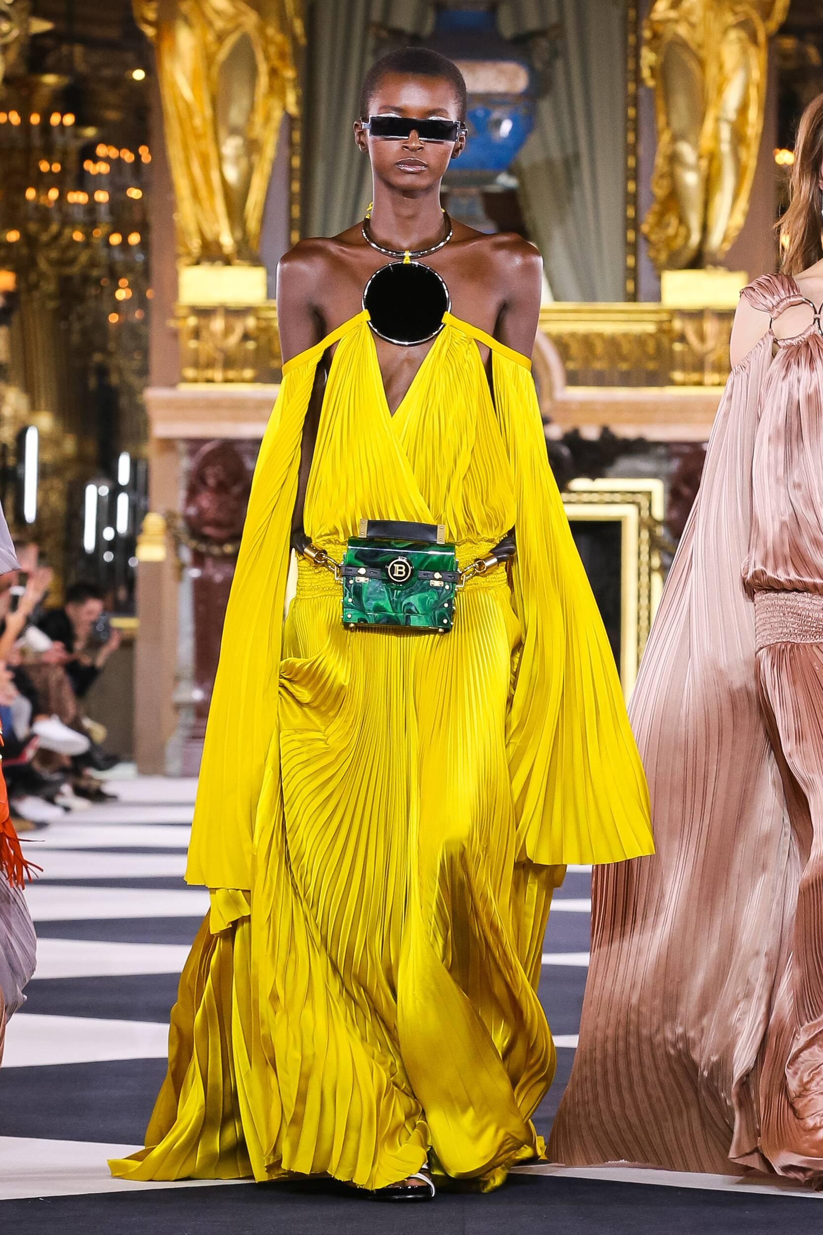 SS 2020 Balmain Show Paris Fashion Week