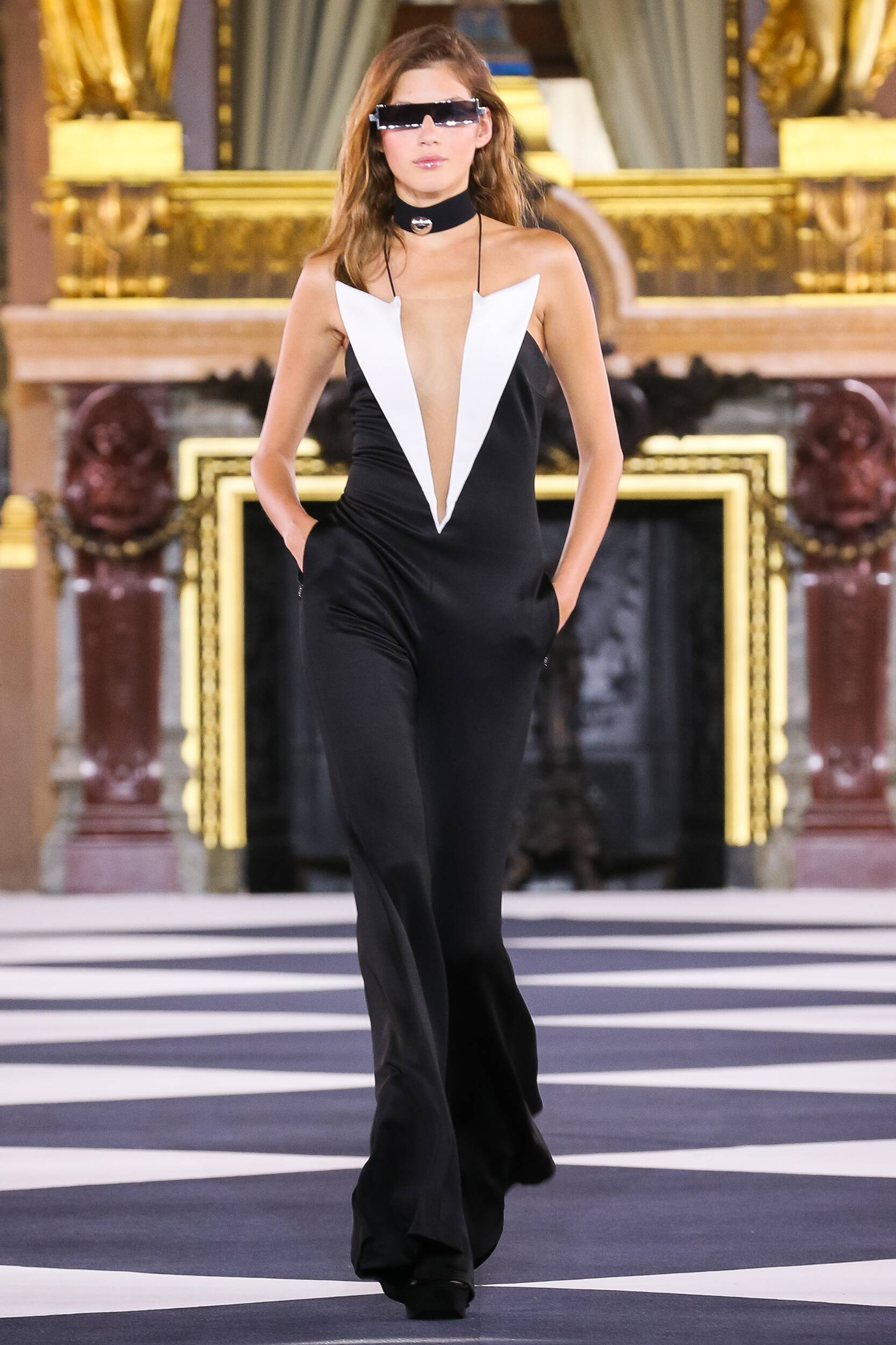 SS 2020 Balmain Show Paris Fashion Womenswear Paris