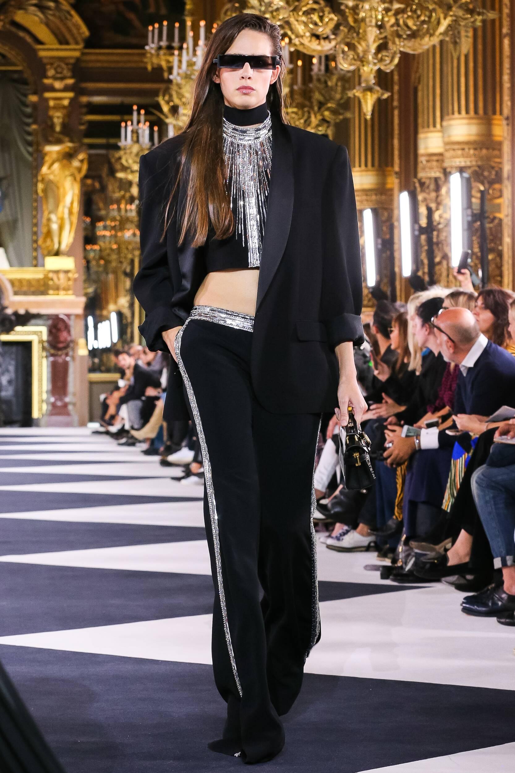 SS 2020 Balmain Show Paris Fashion Womenswear