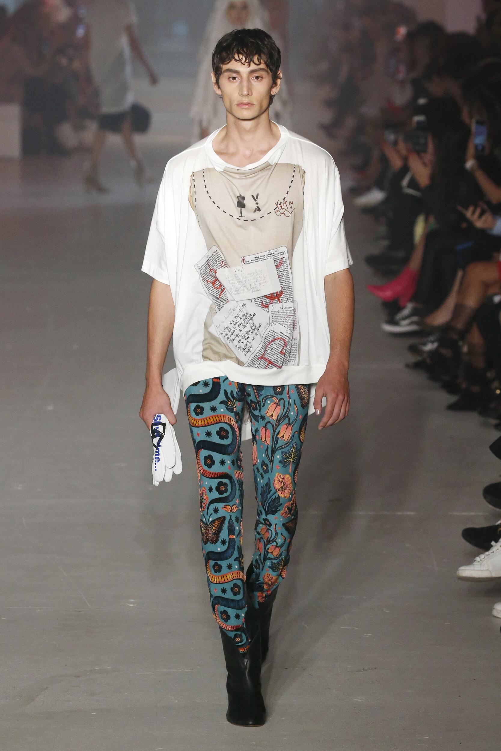 SS 2020 Fashion Show Andreas Kronthaler for Vivienne Westwood