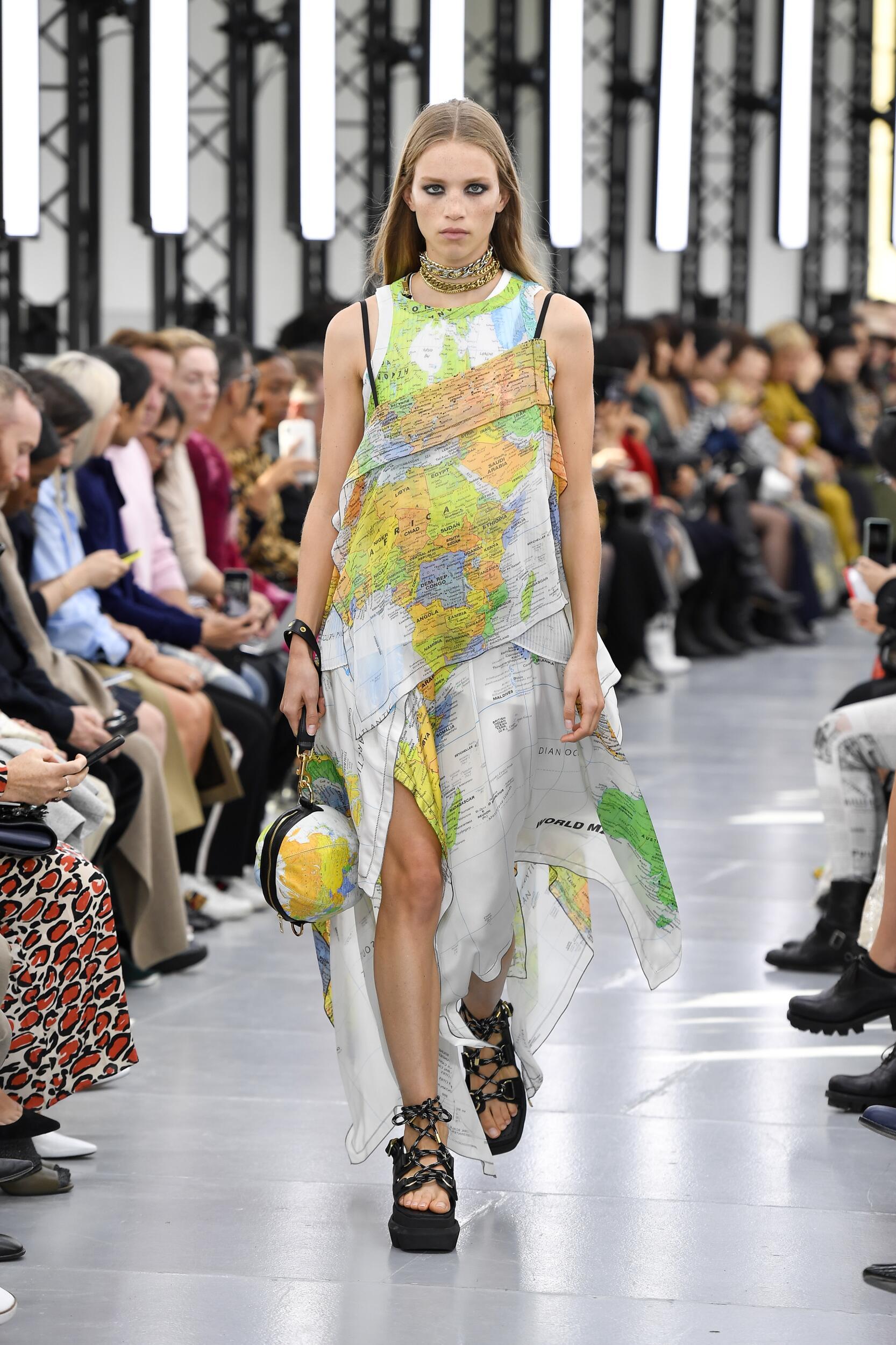 SS 2020 Fashion Show Sacai