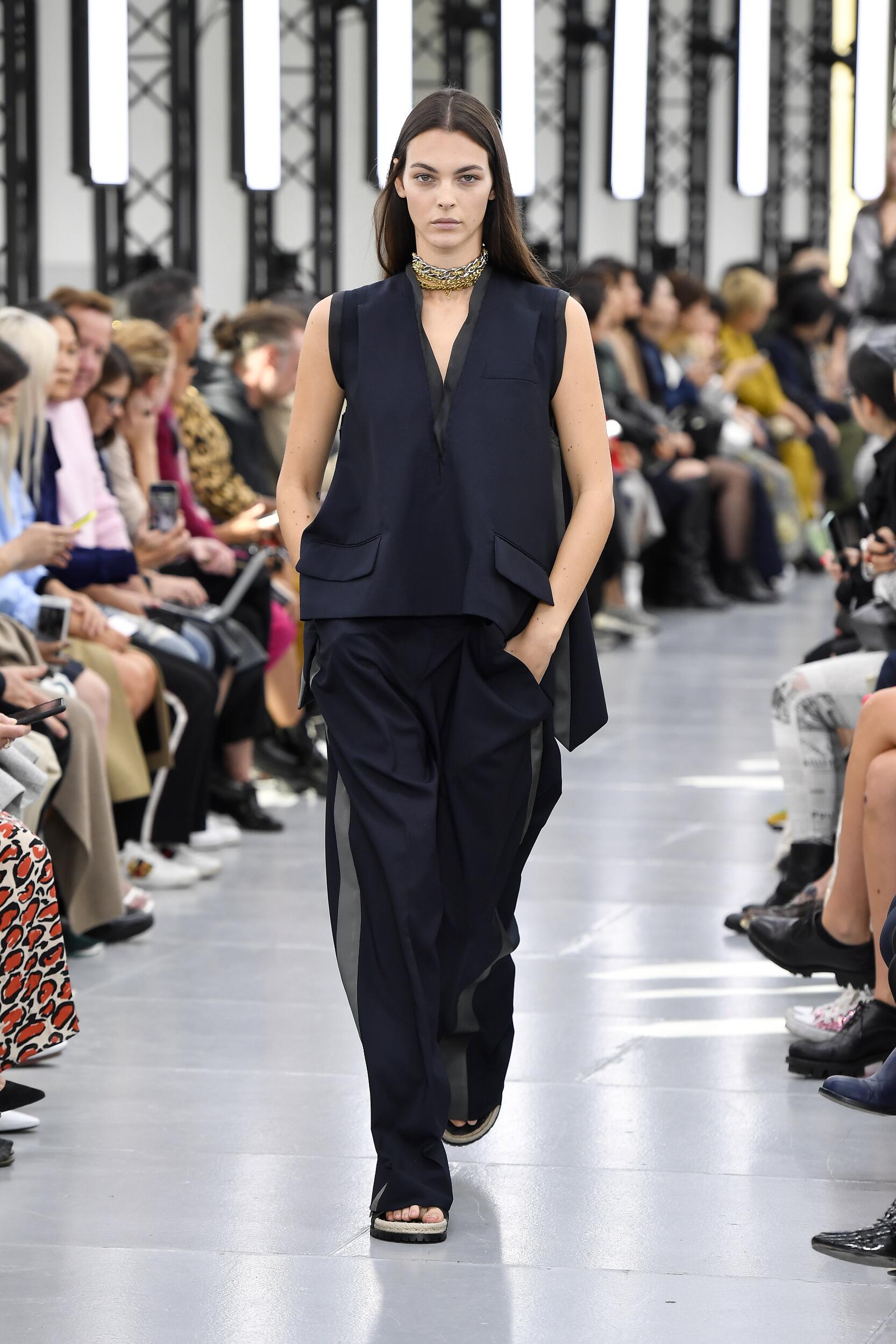 SS 2020 Sacai Fashion Show Paris