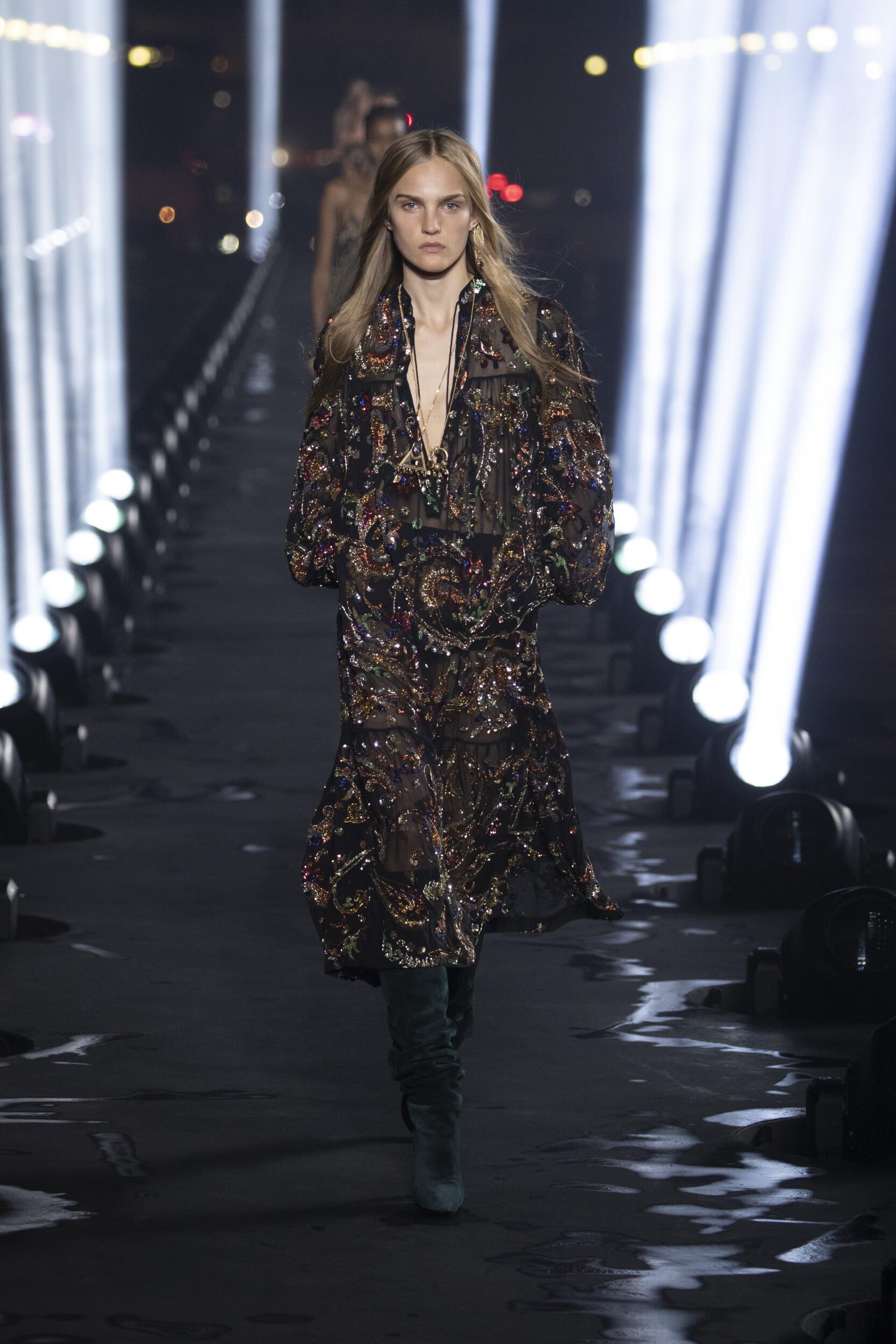 SS 2020 Saint Laurent Fashion Show Paris