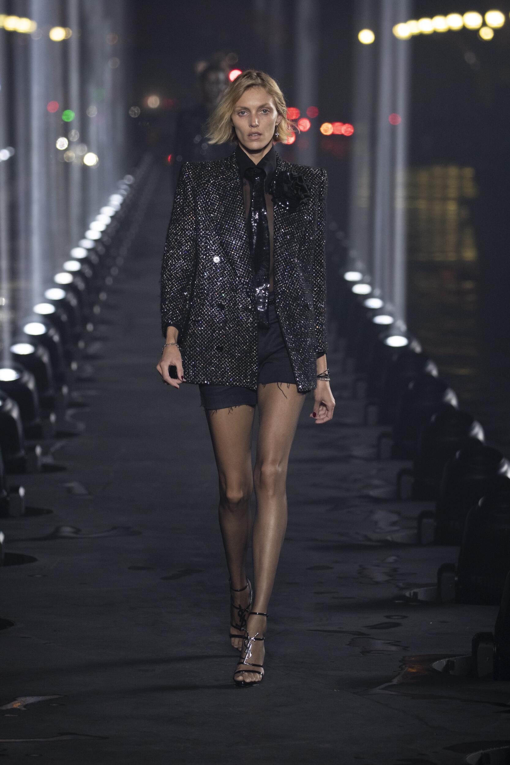 SS 2020 Saint Laurent Show Paris Fashion Week Womenswear