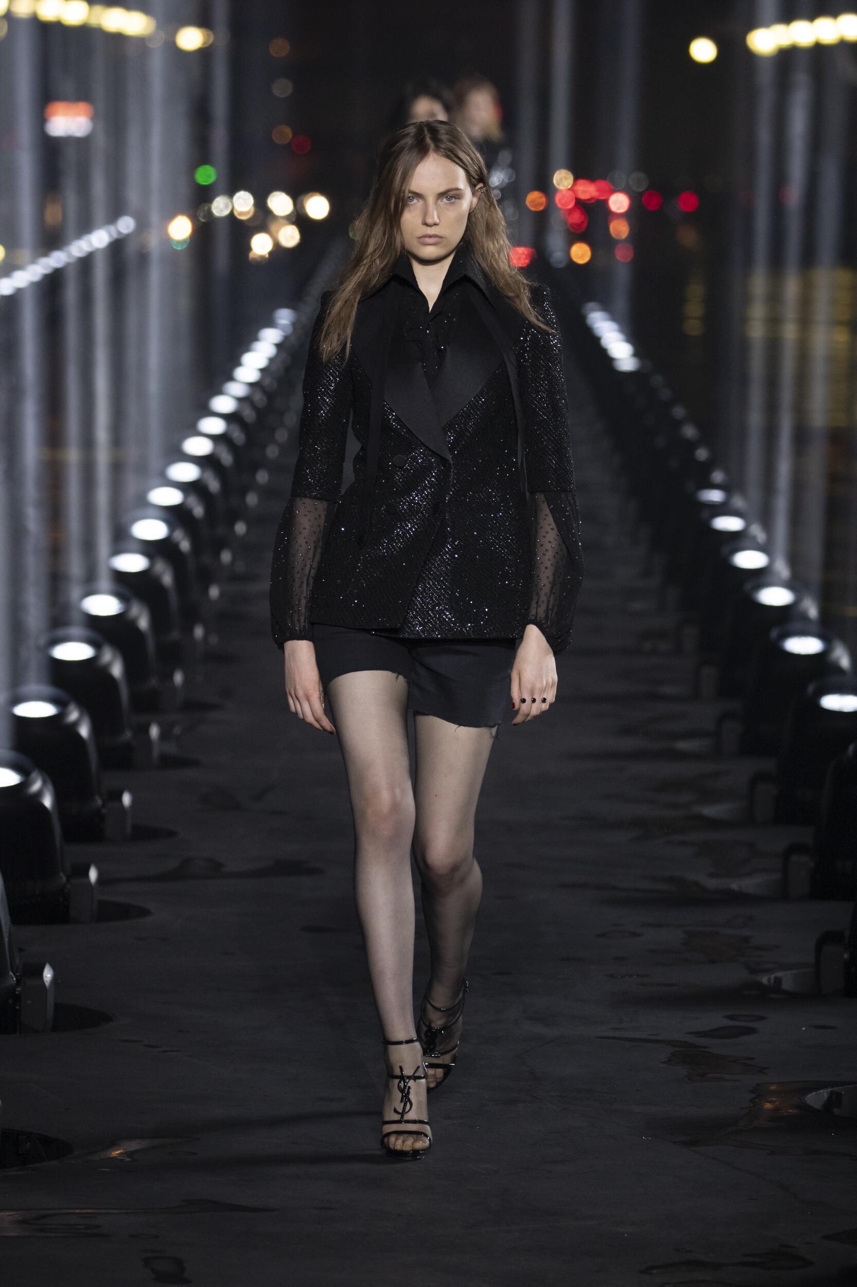 SS 2020 Saint Laurent Show Paris Fashion Week