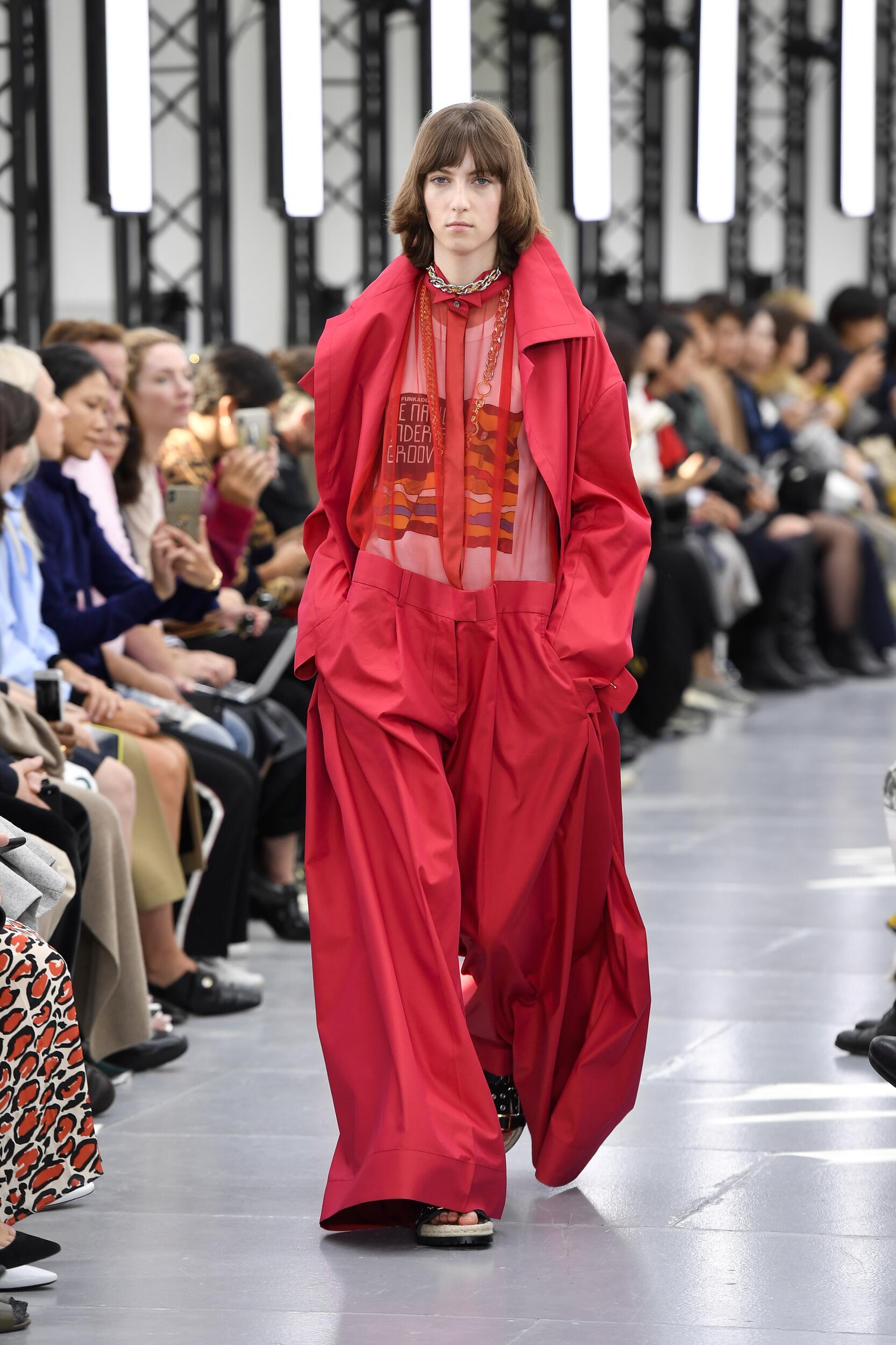 Sacai Paris Fashion Week Womenswear
