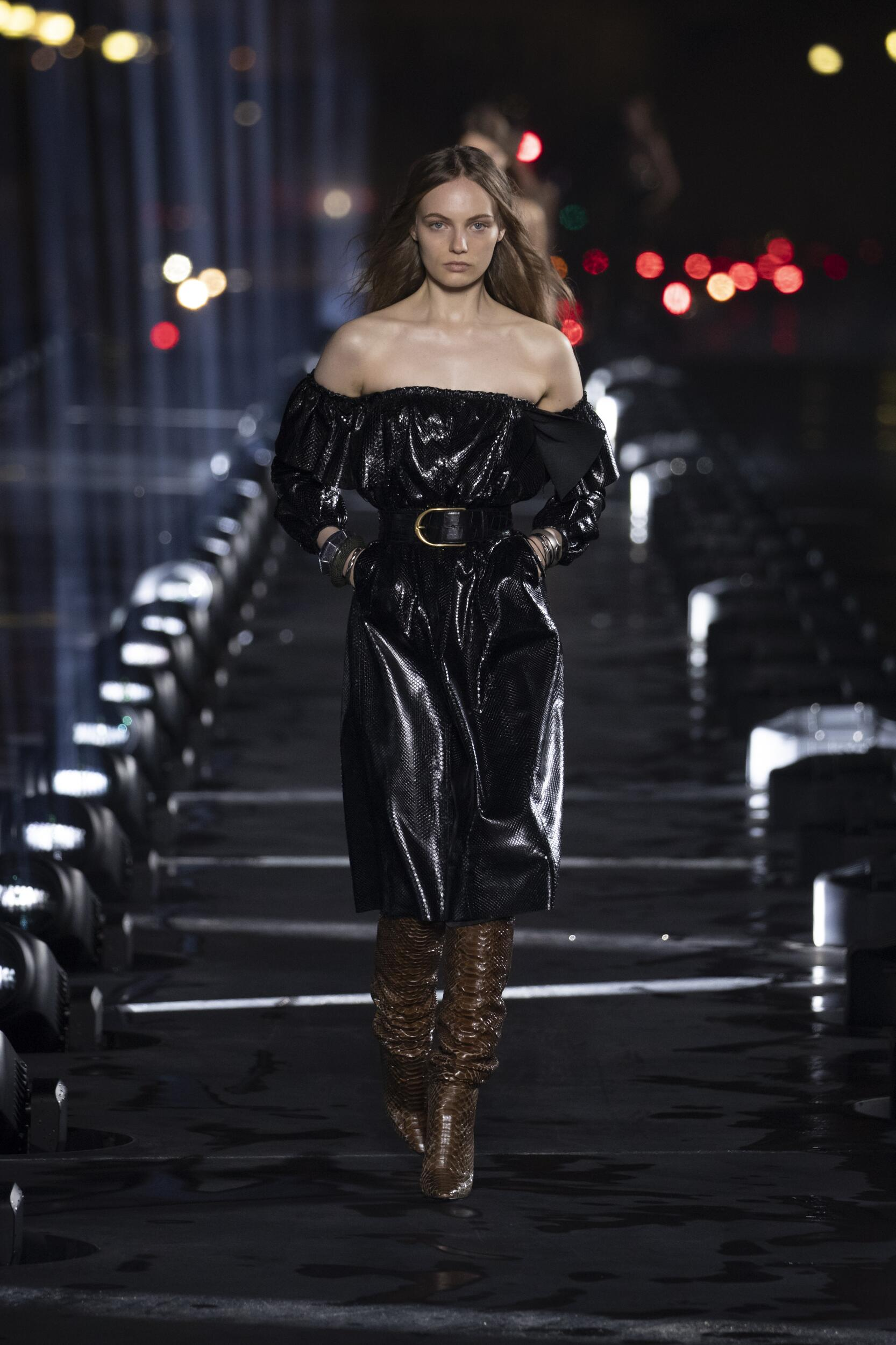 Saint Laurent Fashion Show