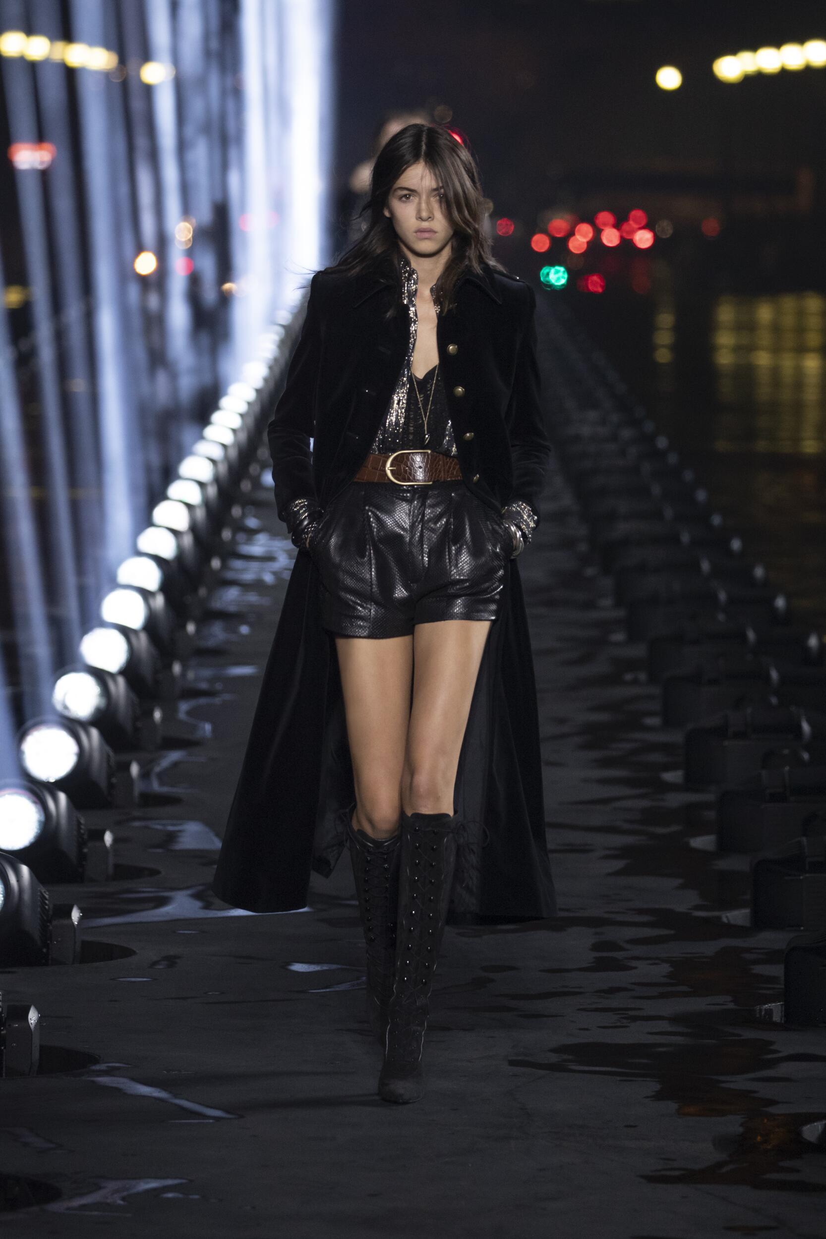 Saint Laurent Paris Fashion Week Womenswear