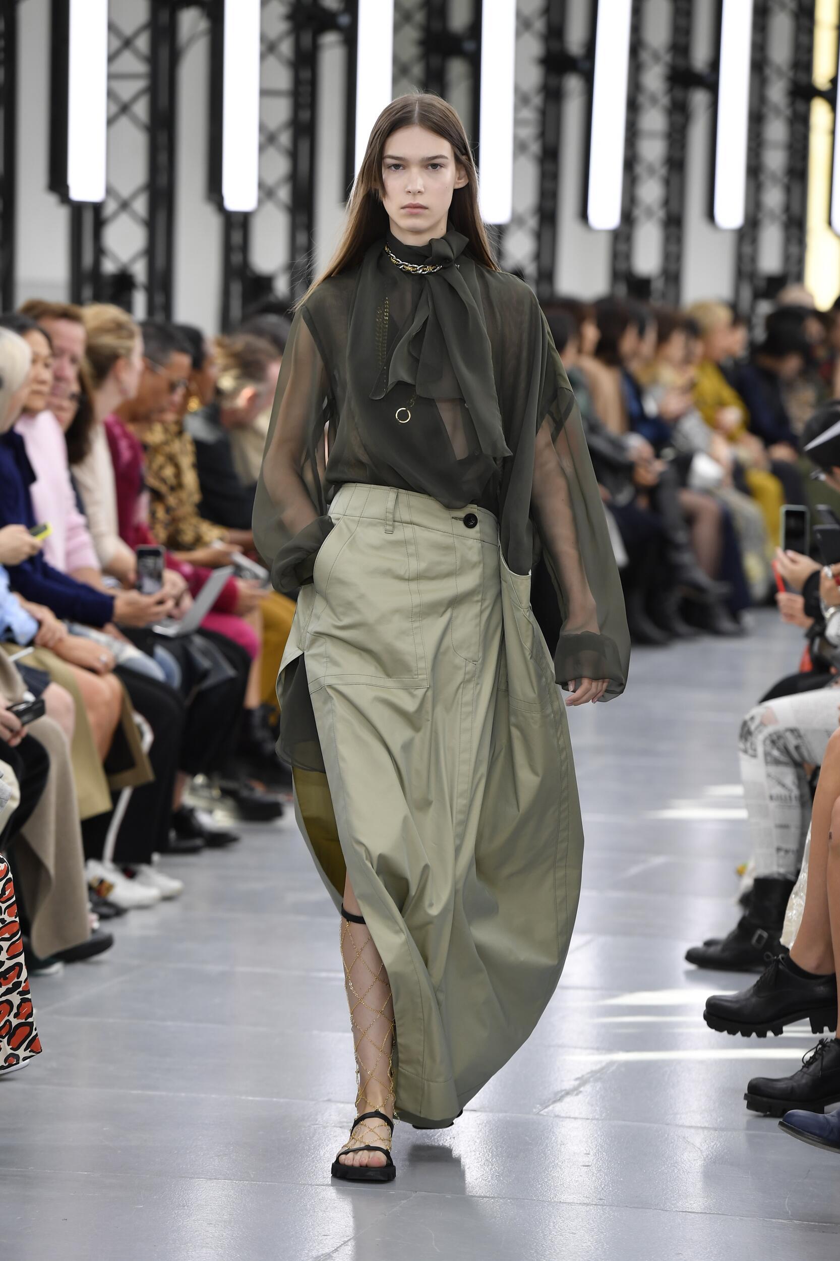 Spring 2020 Womenswear Sacai