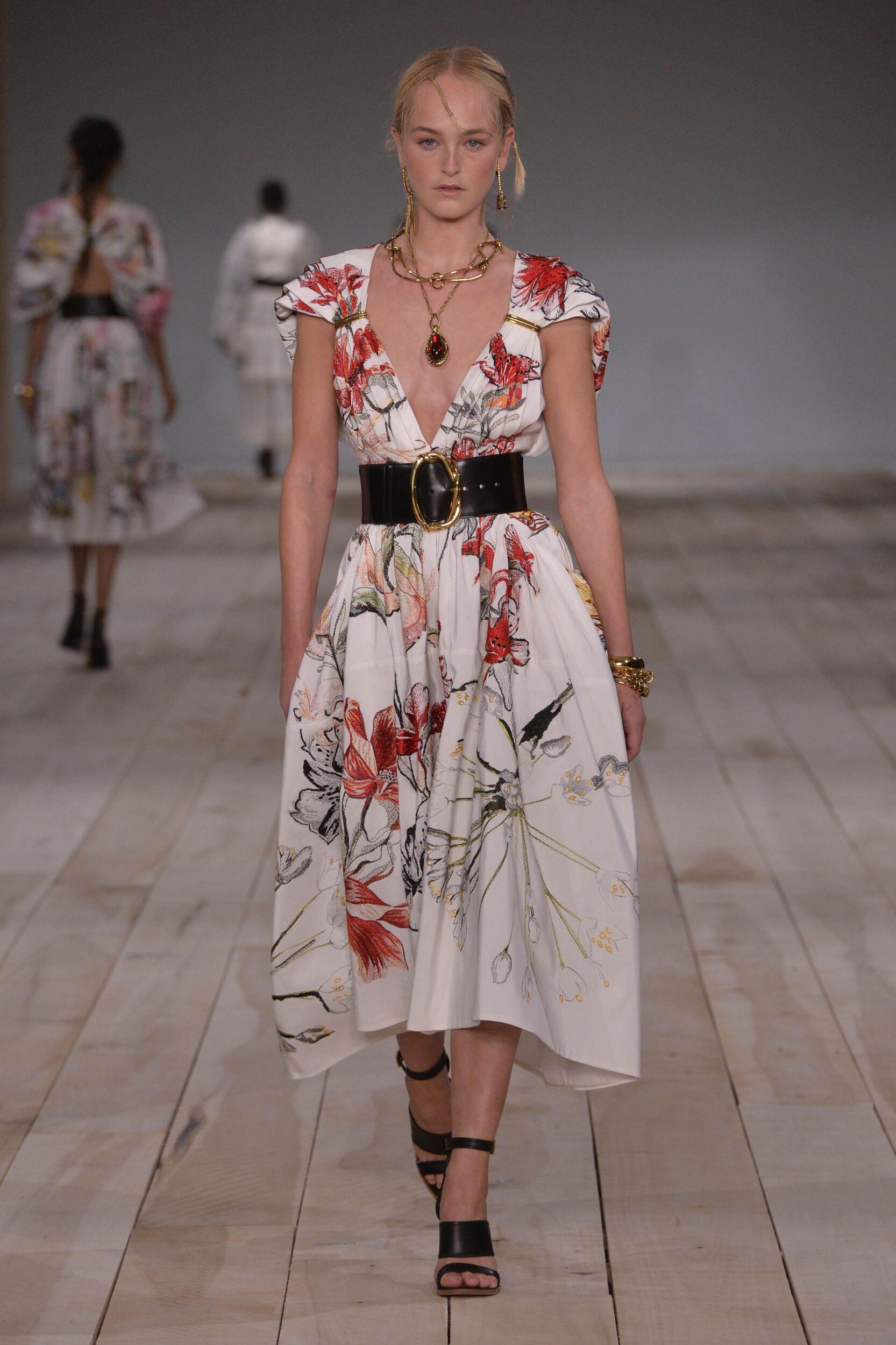 Spring Fashion Trends 2020 Alexander McQueen