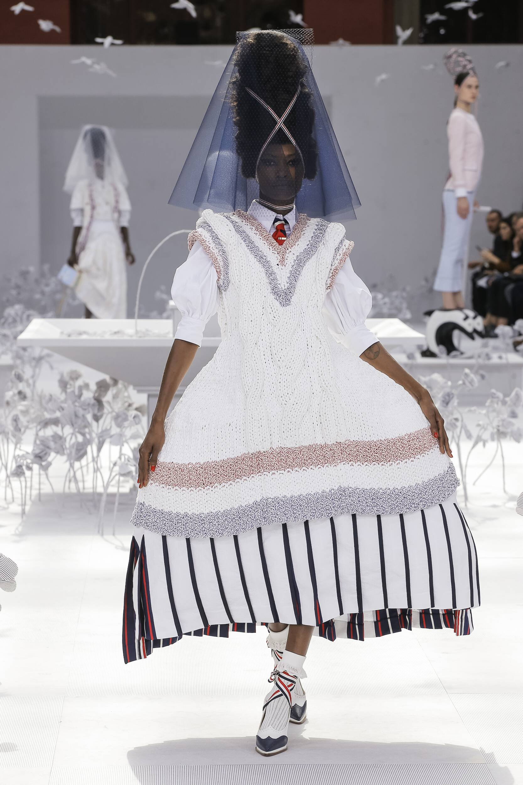 Spring Summer 2020 Woman Paris Thom Browne Collection