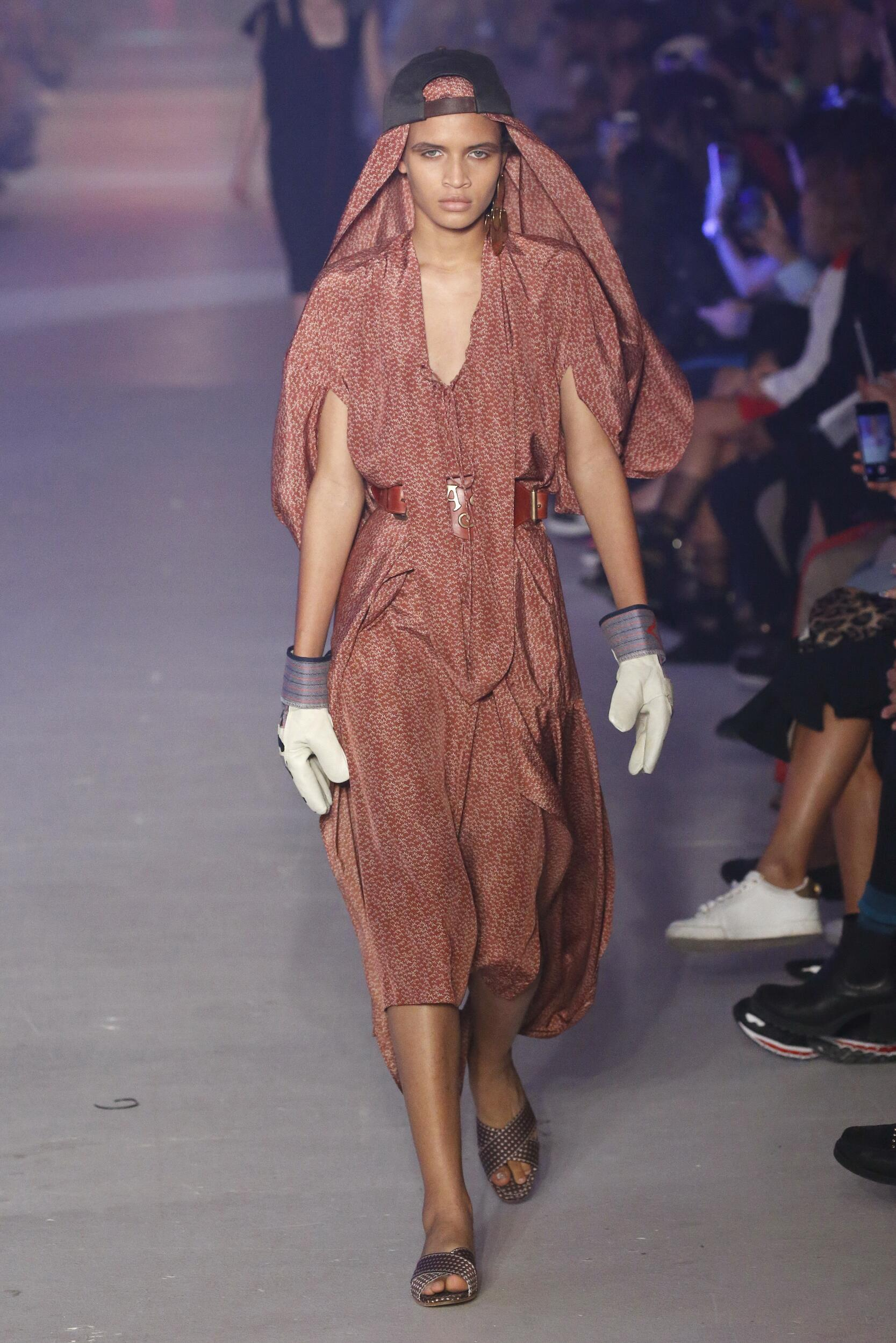 Woman SS 2020 Andreas Kronthaler for Vivienne Westwood Show Paris Fashion Week