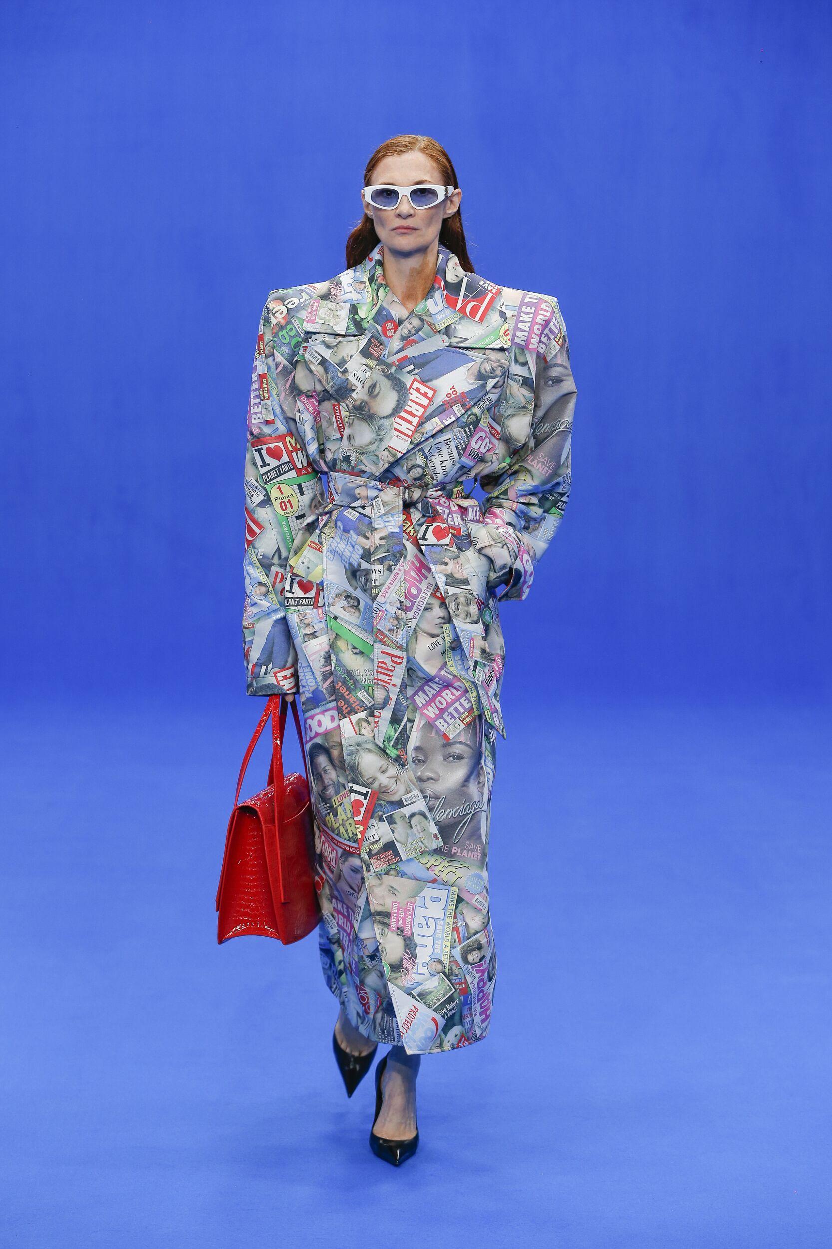 Woman SS 2020 Balenciaga Show Paris Fashion Week
