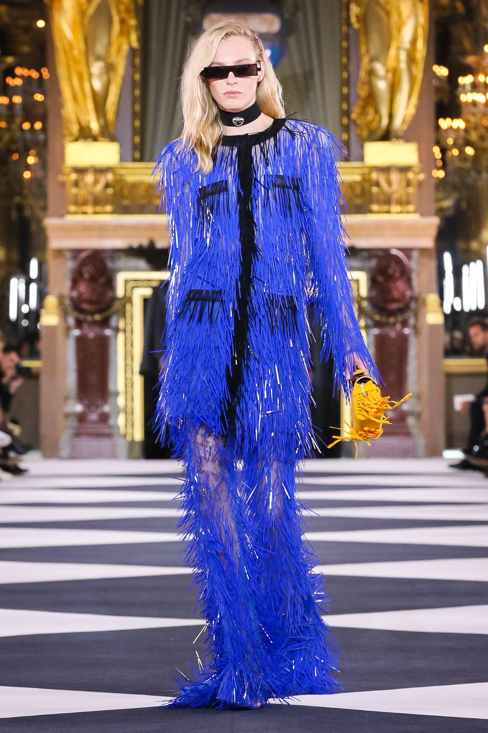 Woman SS 2020 Balmain Show Paris Fashion Week
