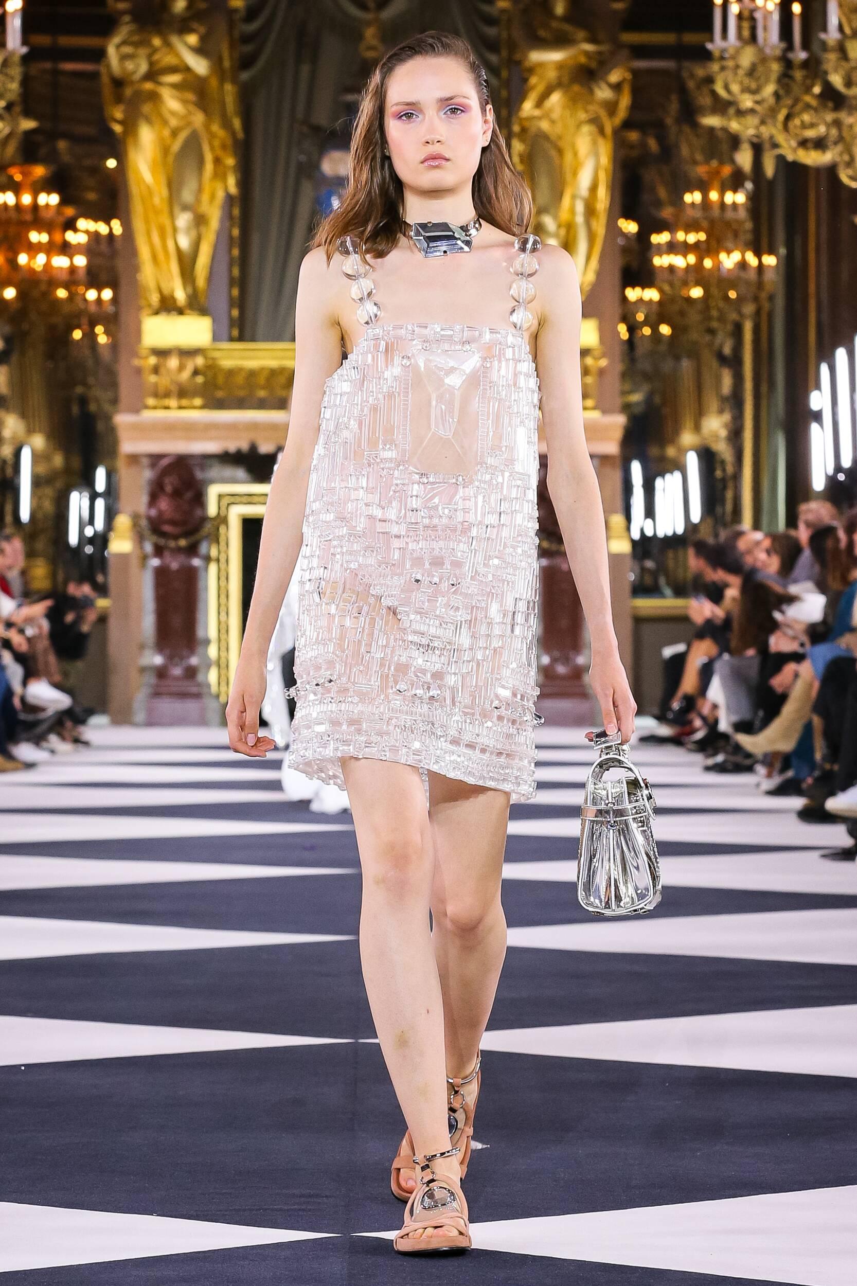 Woman SS 2020 Balmain Show Paris Fashion