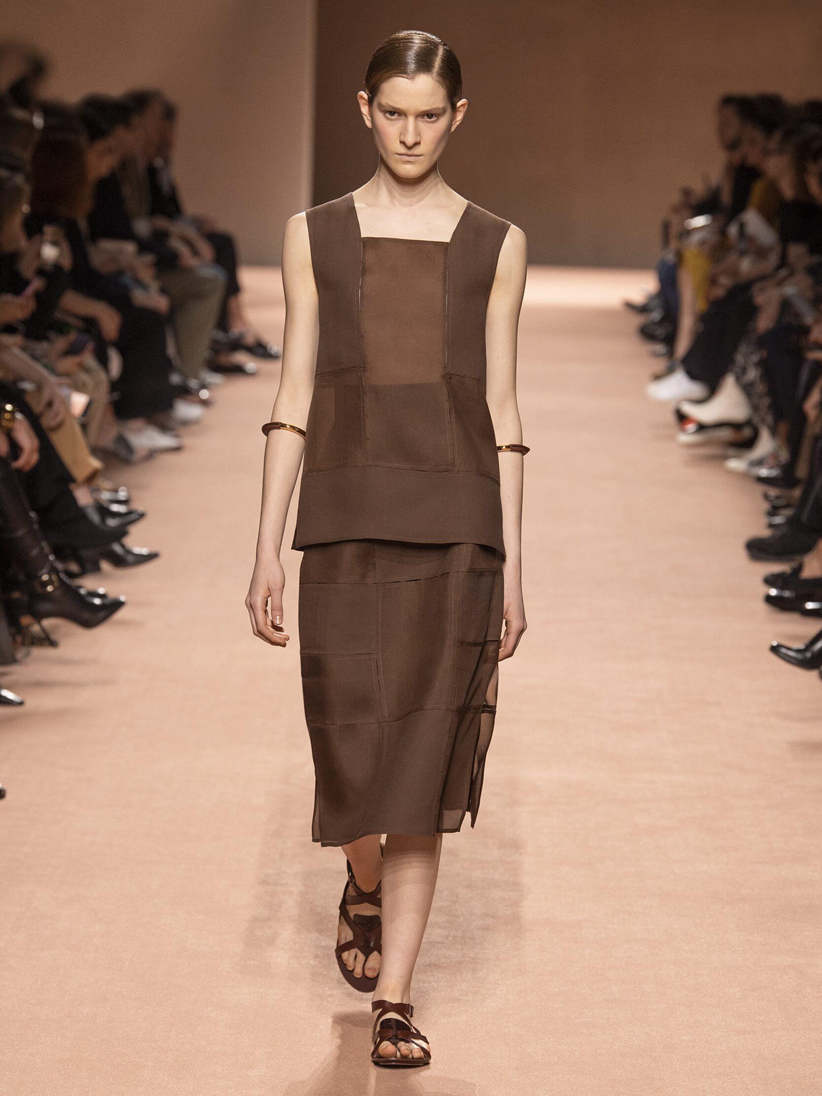 Woman SS 2020 Hermès Show Paris Fashion Week
