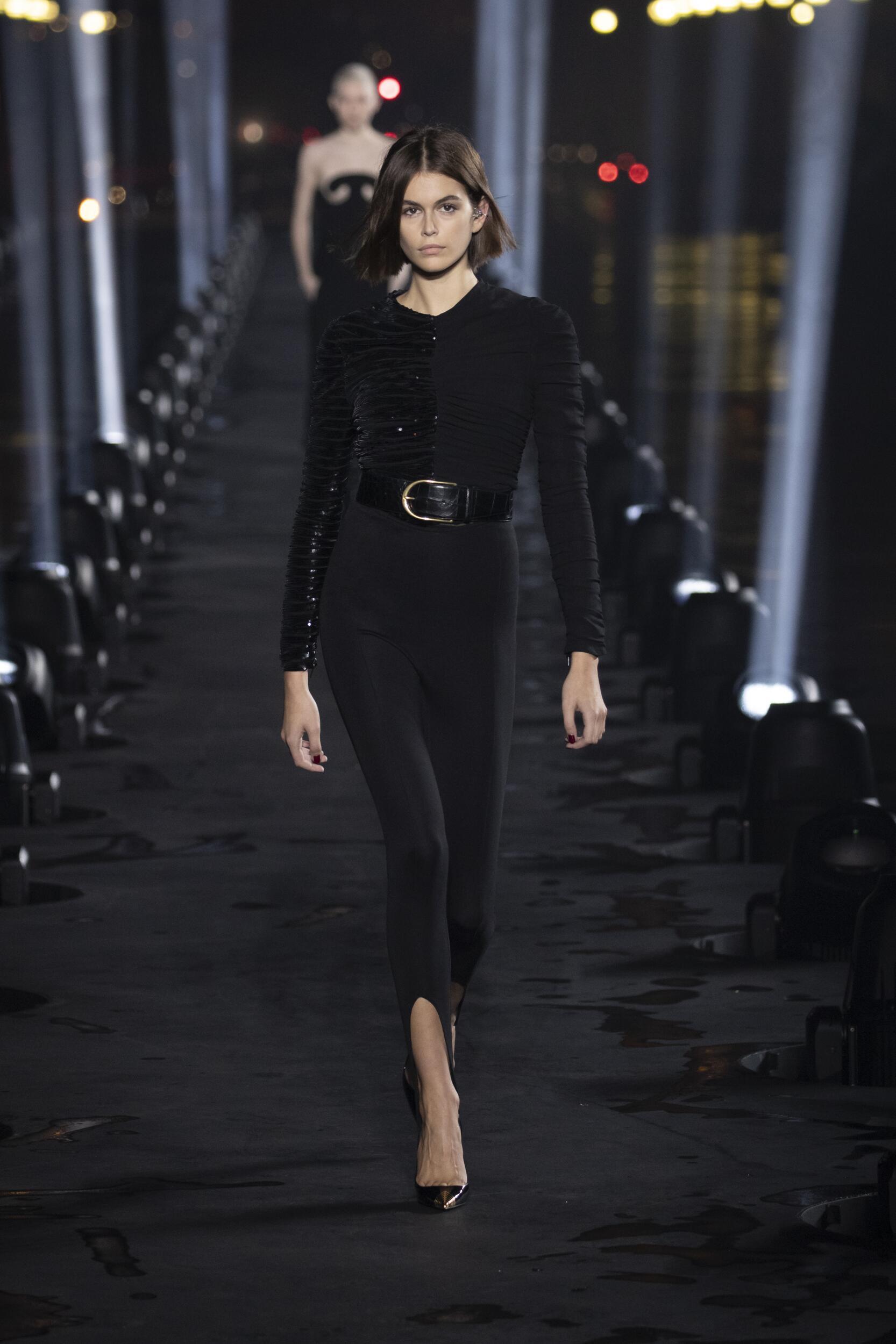 Woman SS 2020 Saint Laurent Show Paris Fashion Week