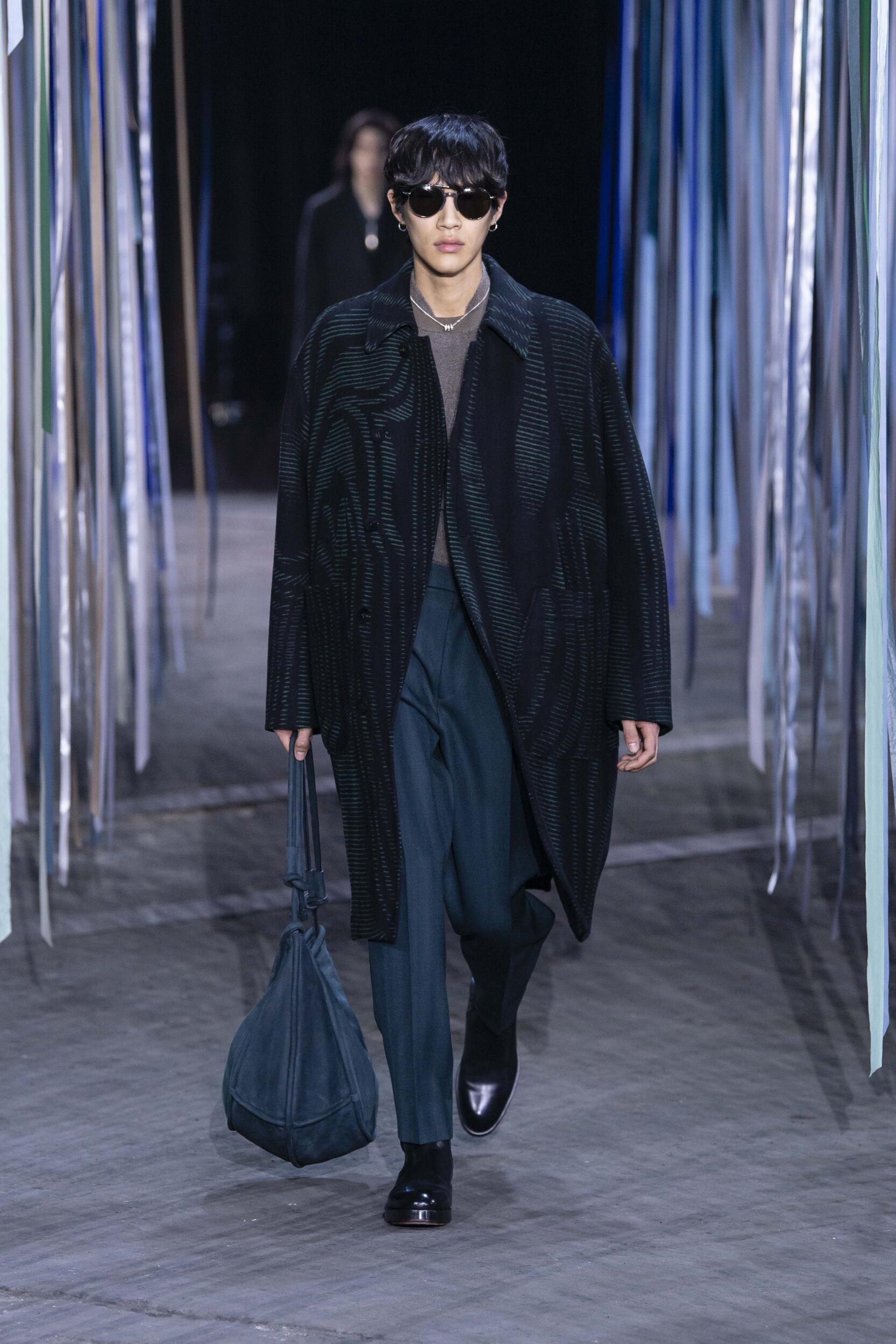 2020 Catwalk Ermenegildo Zegna XXX Man Fashion Show Winter