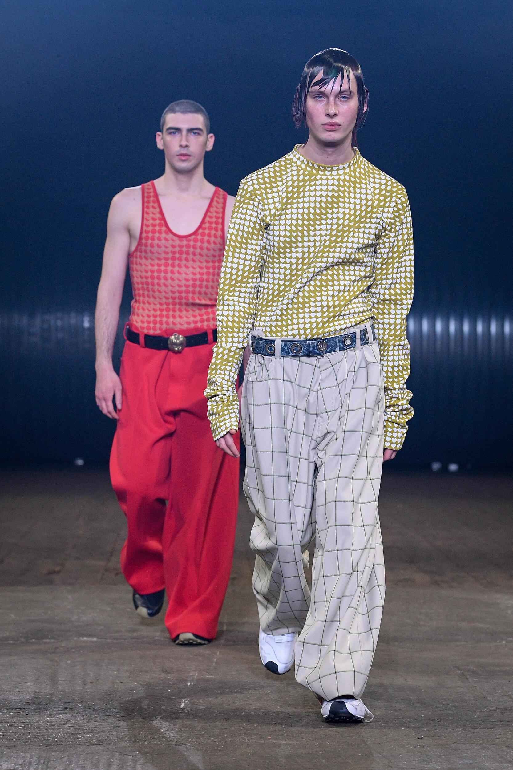 2020 Catwalk Marni Man Fashion Show Winter