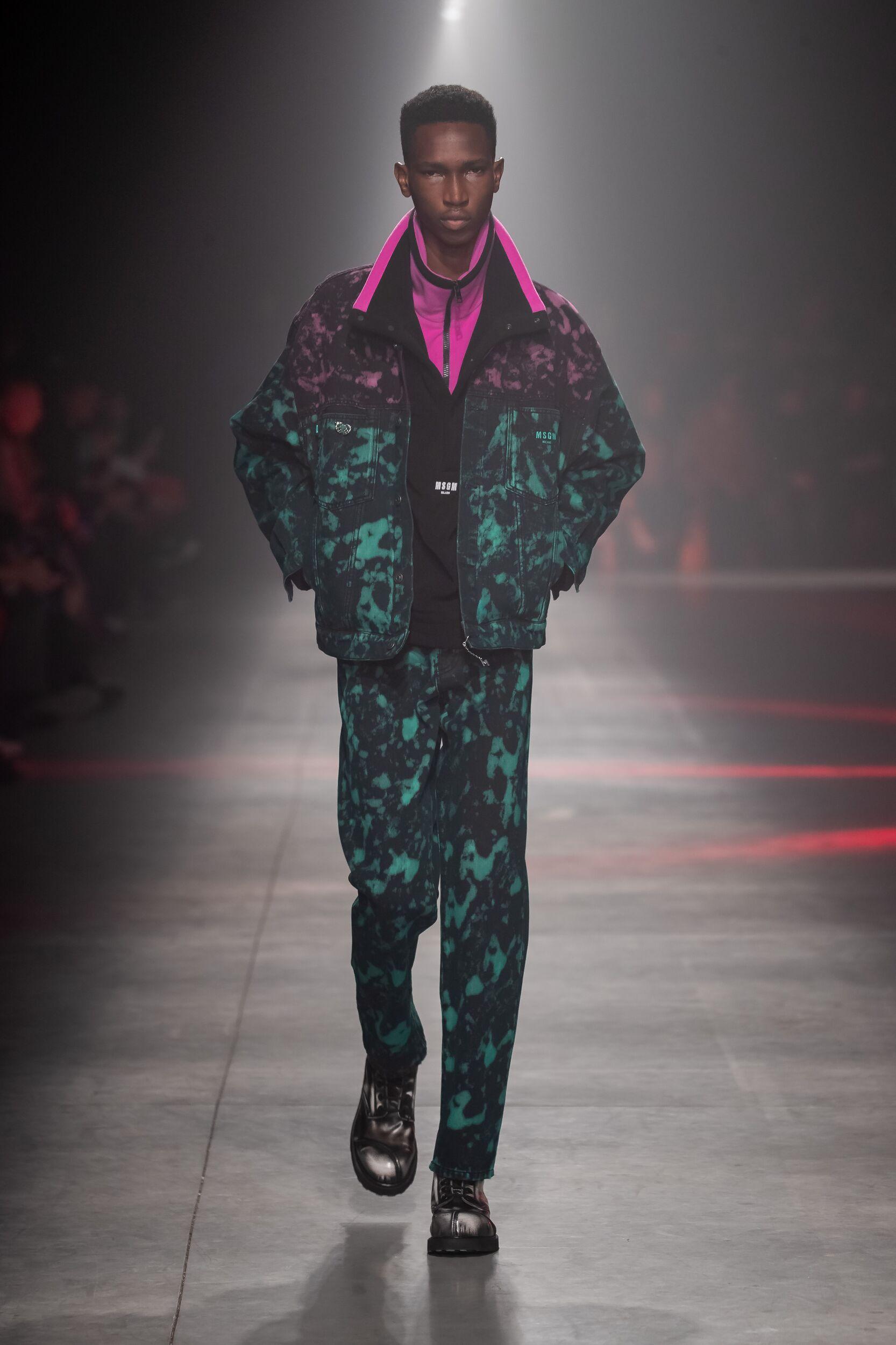 2020 Catwalk MSGM Man Fashion Show Winter