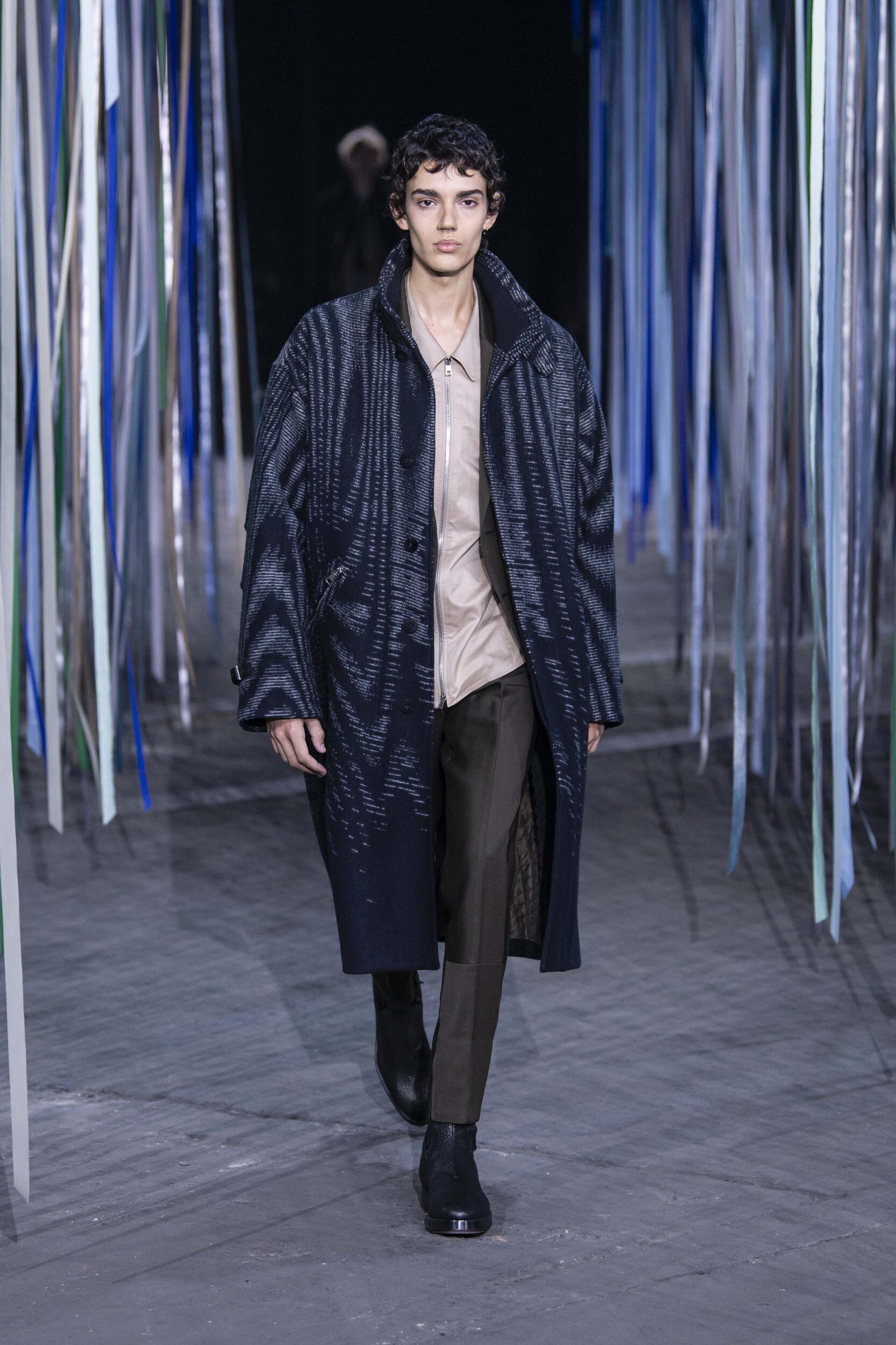 2020 Ermenegildo Zegna XXX Catwalk Milan Fashion Week