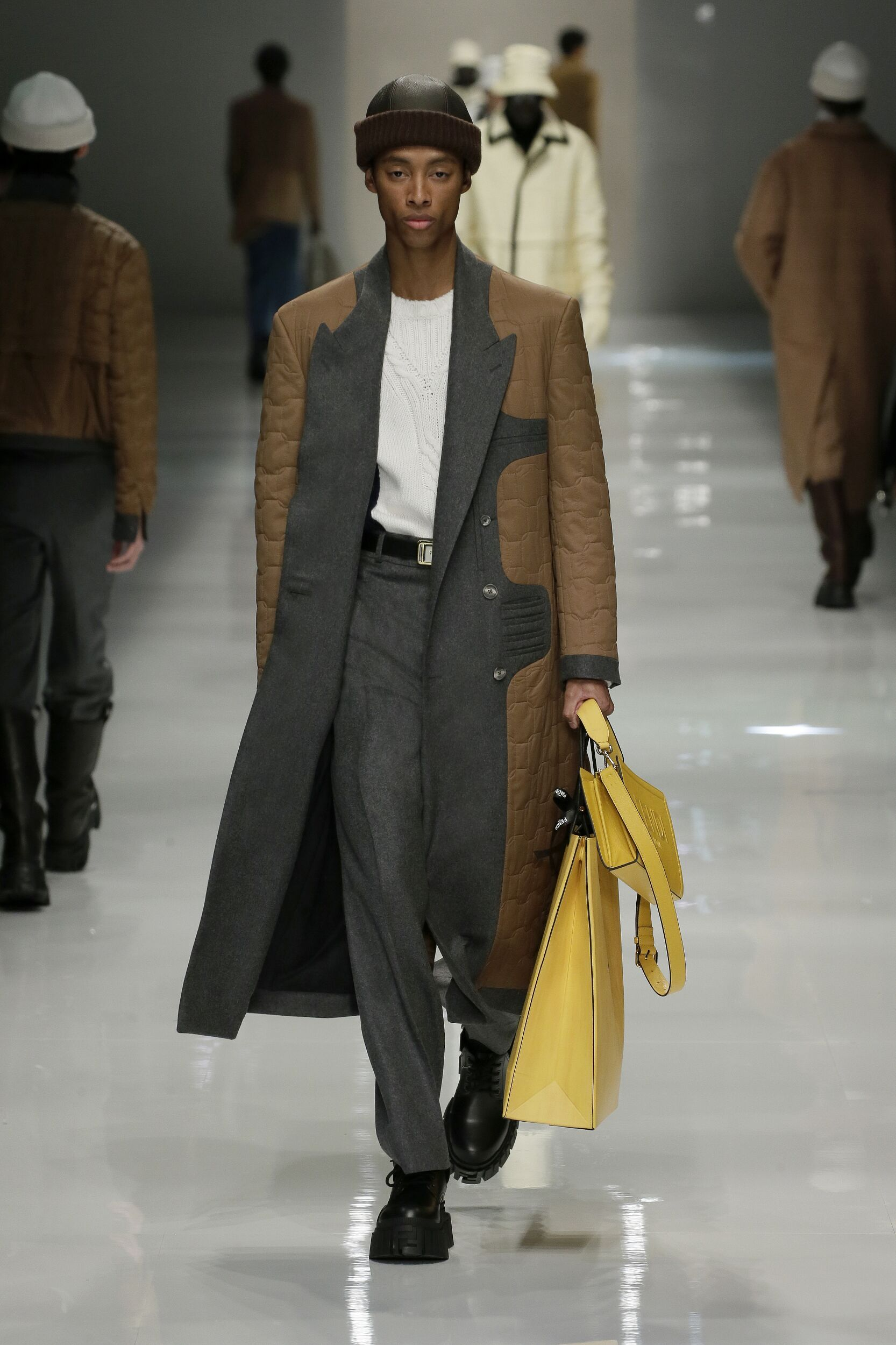 2020 Fendi Catwalk Milan Fashion Week