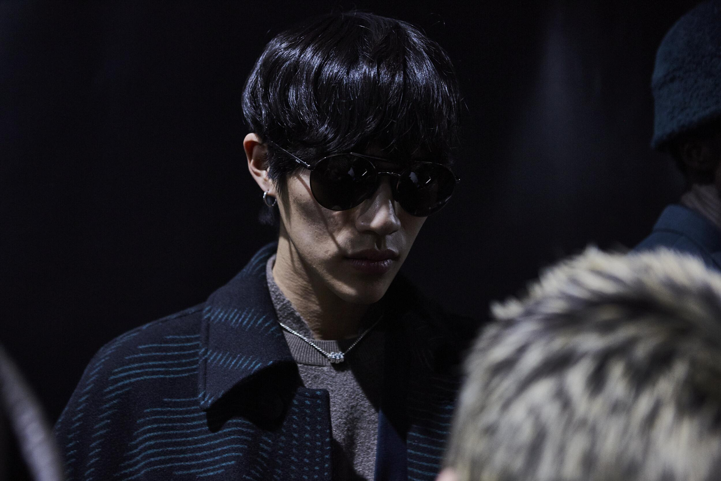 Backstage Ermenegildo Zegna XXX Fall Man 2020
