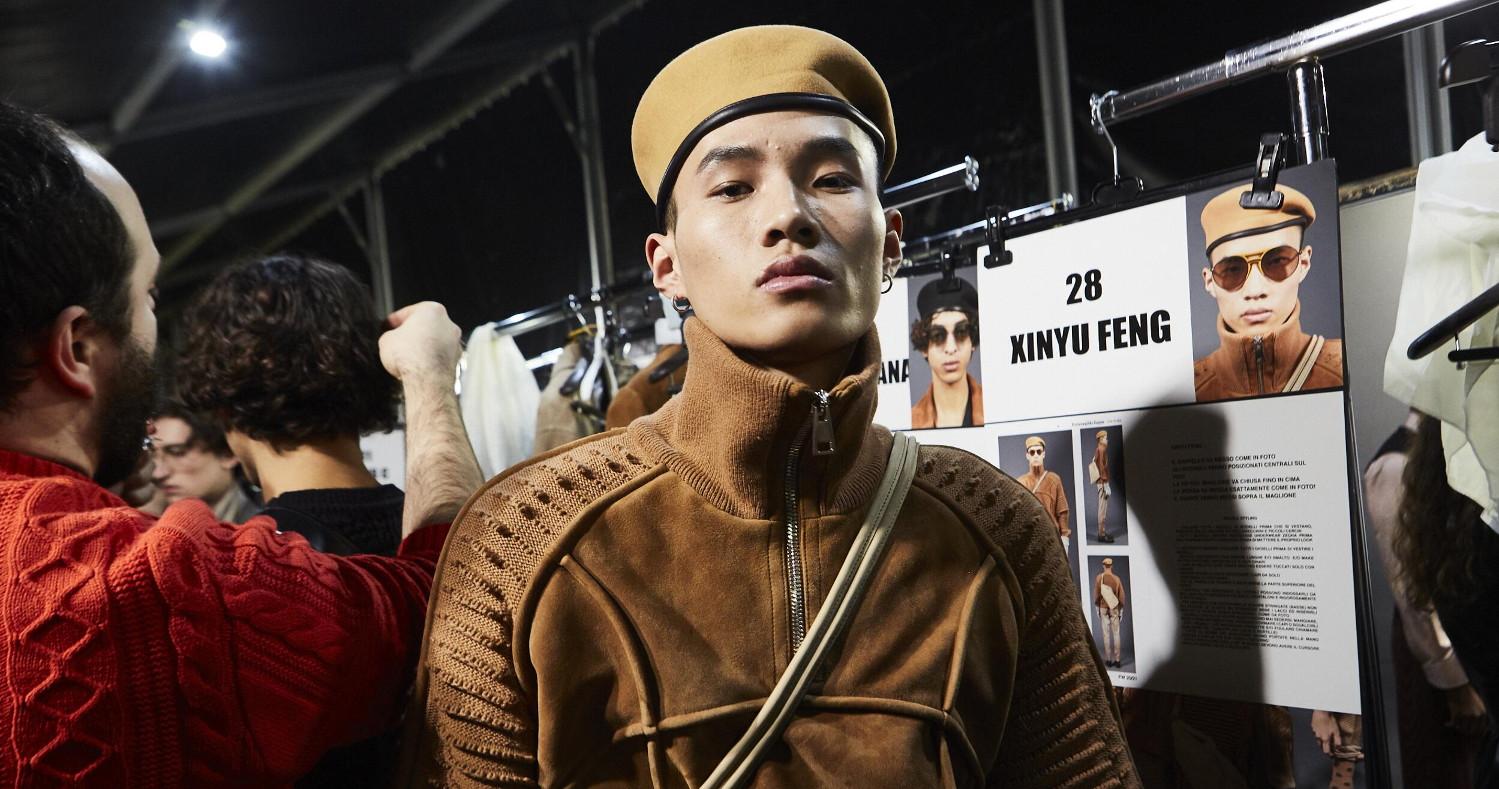 Backstage Ermenegildo Zegna XXX Fashion Show 2020 Milan