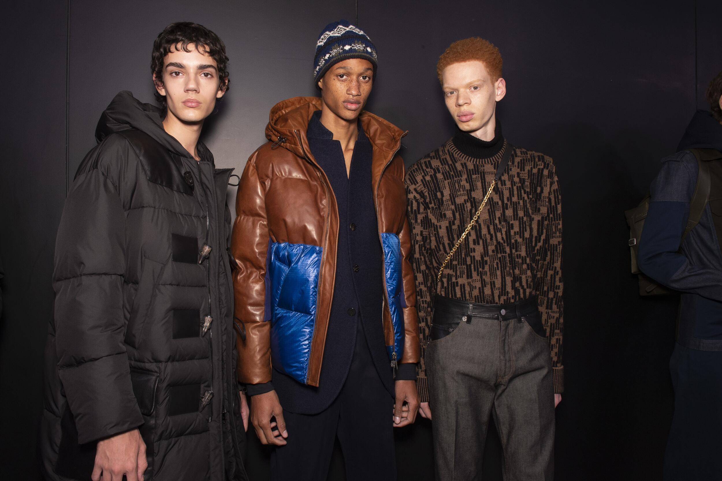 Backstage Neil Barrett Fall Menswear 2020