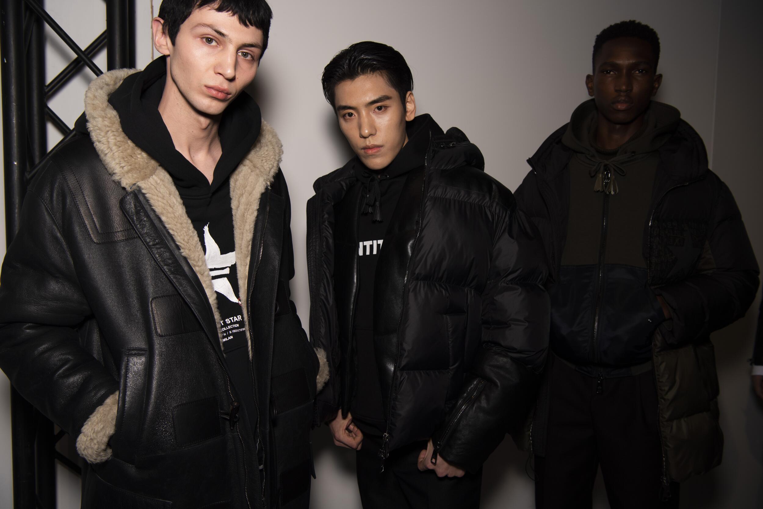 Backstage Neil Barrett Fashion Trends 2020