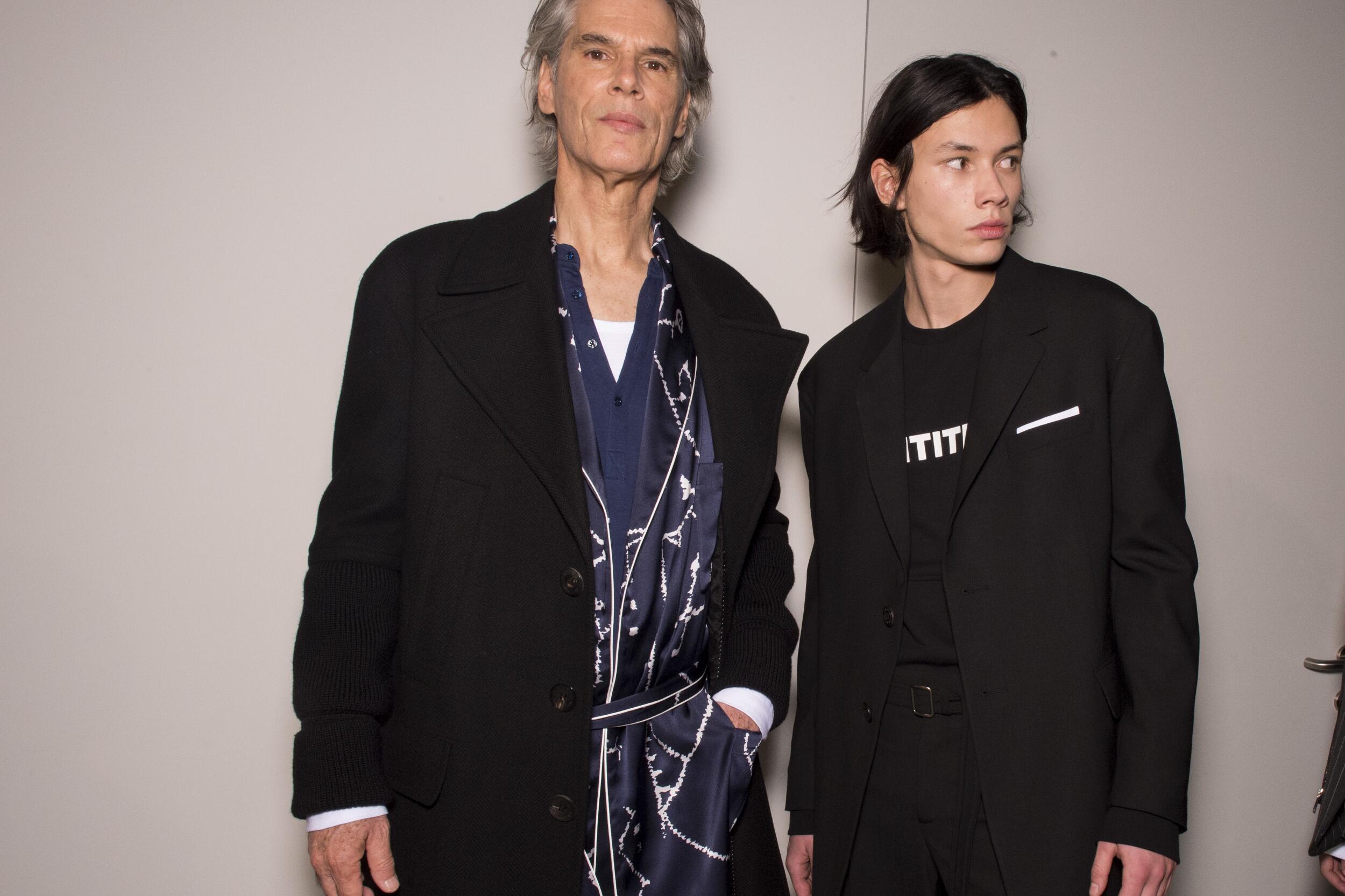 Backstage Neil Barrett Models Trends 2020