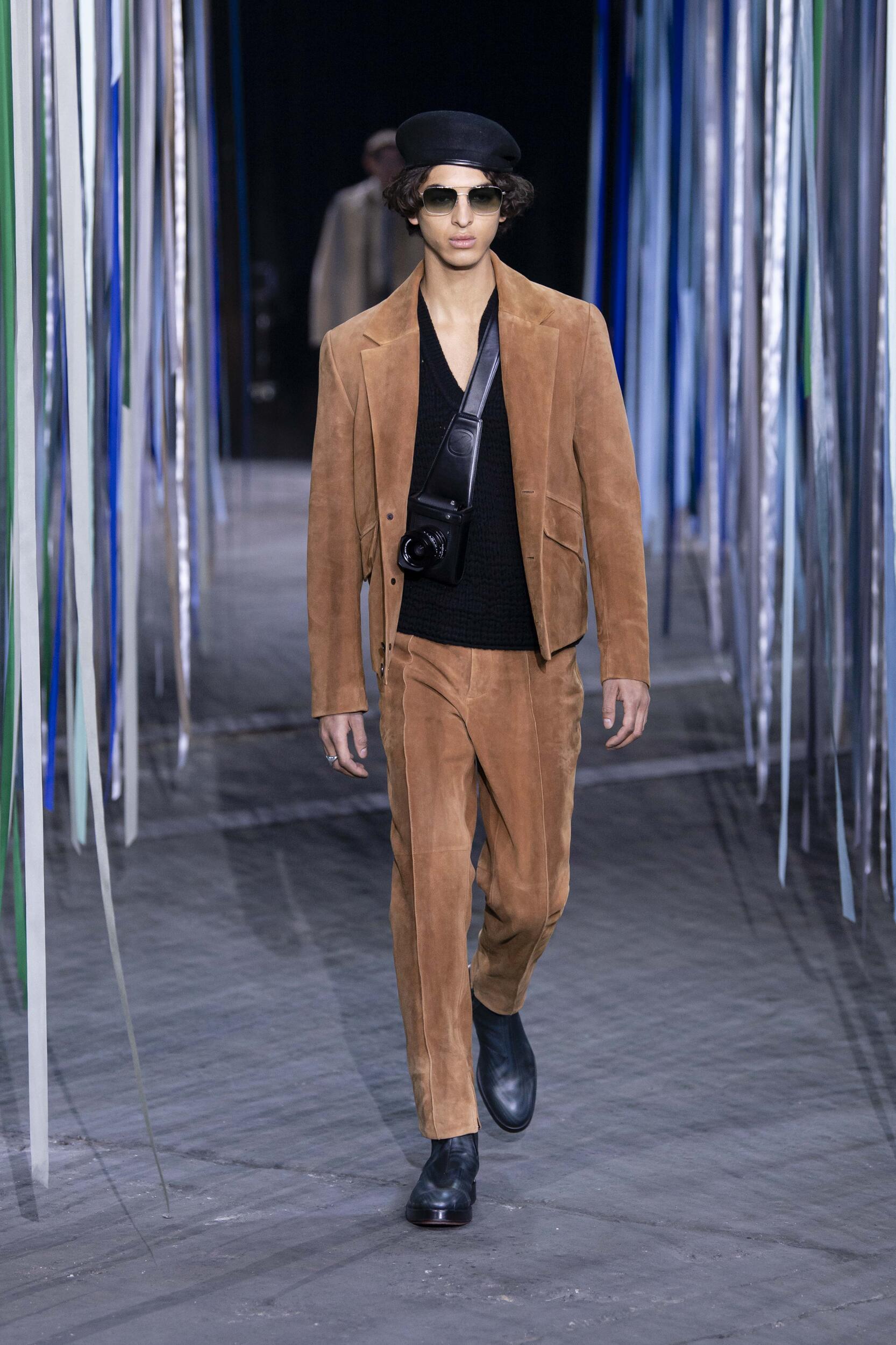 Catwalk Ermenegildo Zegna XXX Men Fashion Show Winter 2020