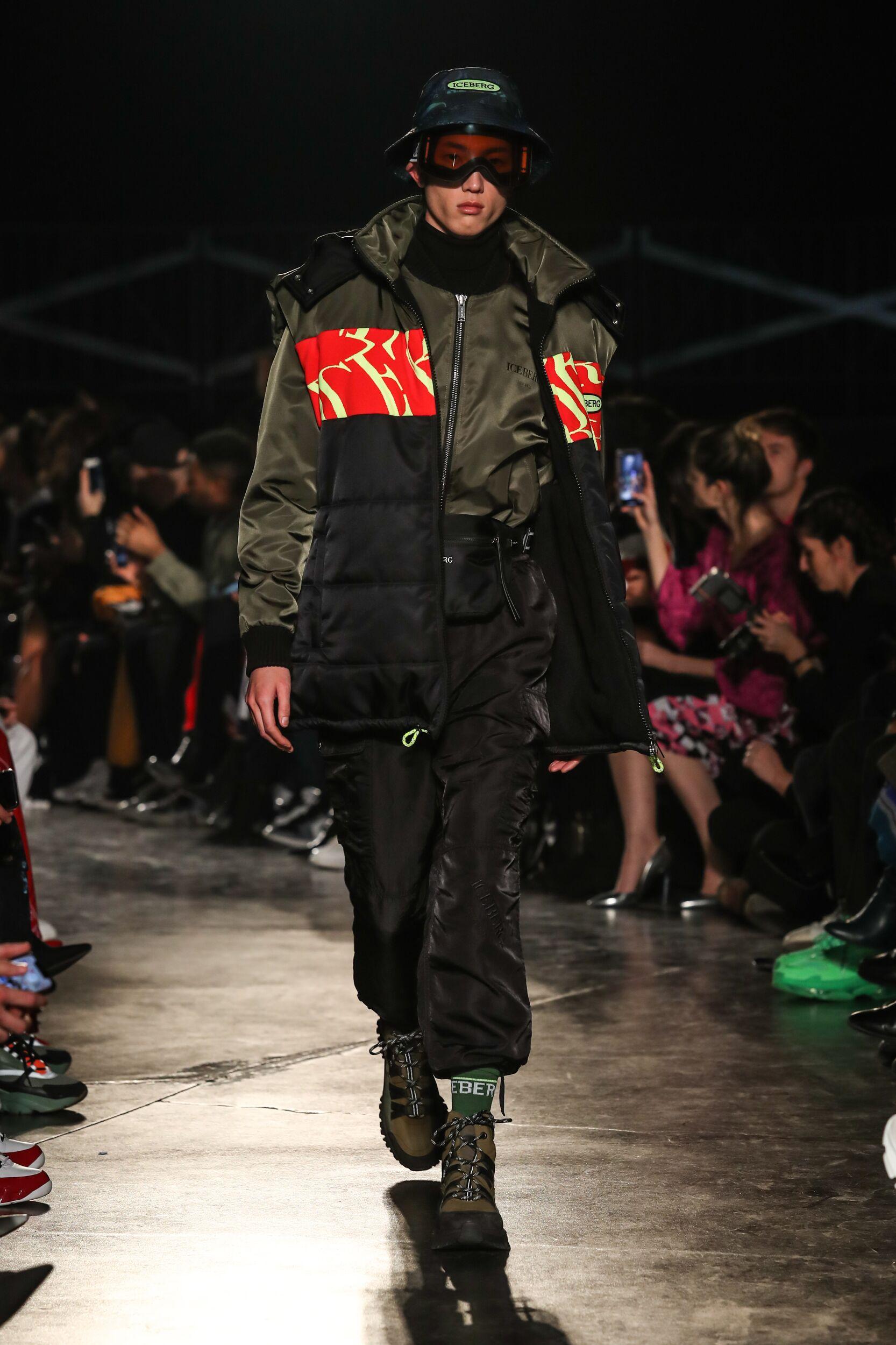 Catwalk Iceberg Men Fashion Show Winter 2020