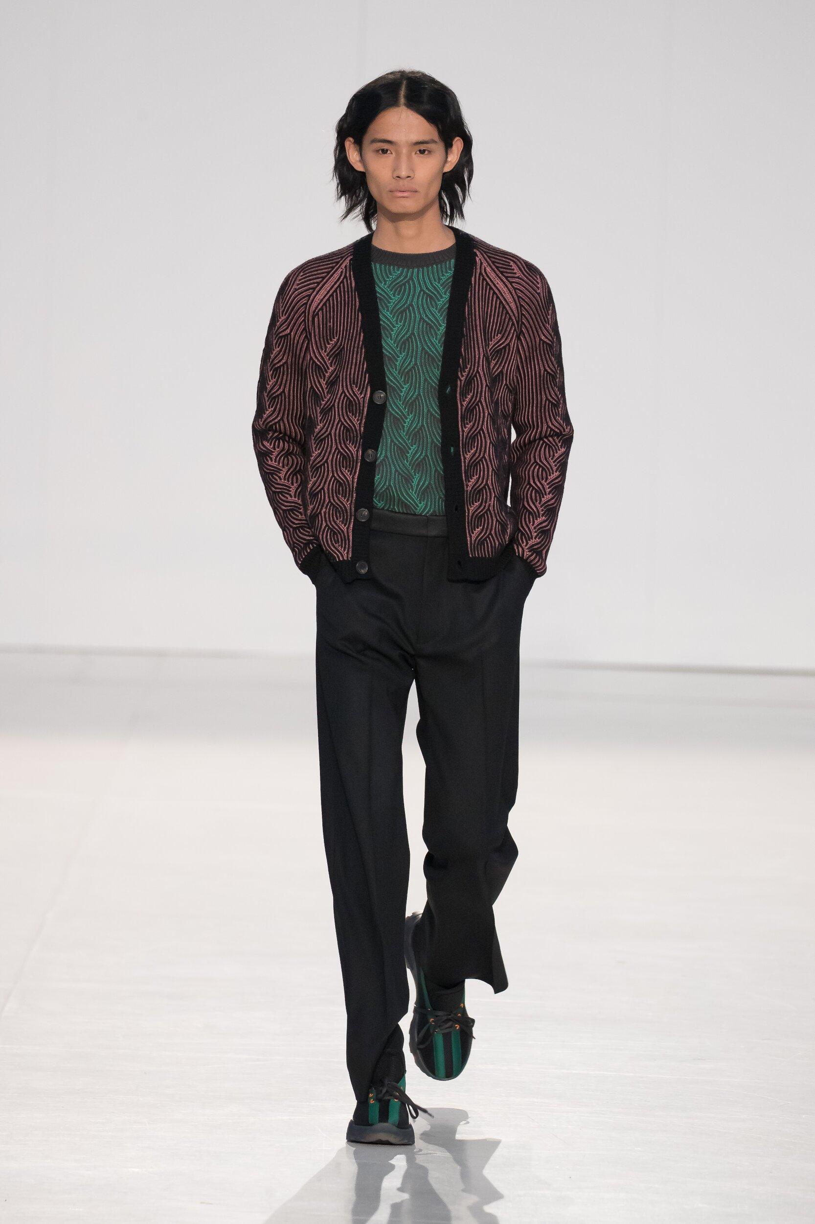 Catwalk Marco De Vincenzo Men Fashion Show Winter 2020