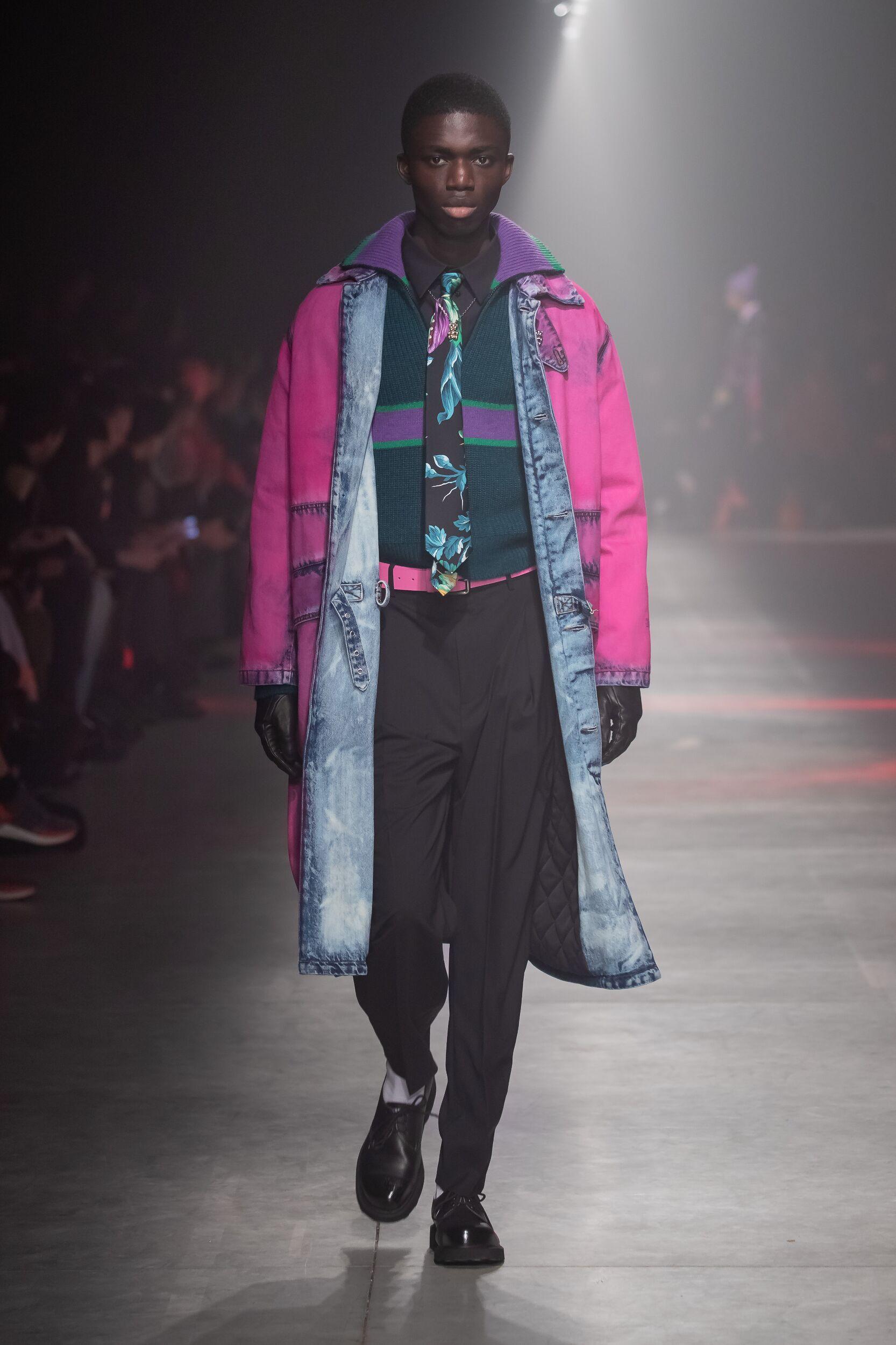 Catwalk MSGM Men Fashion Show Winter 2020