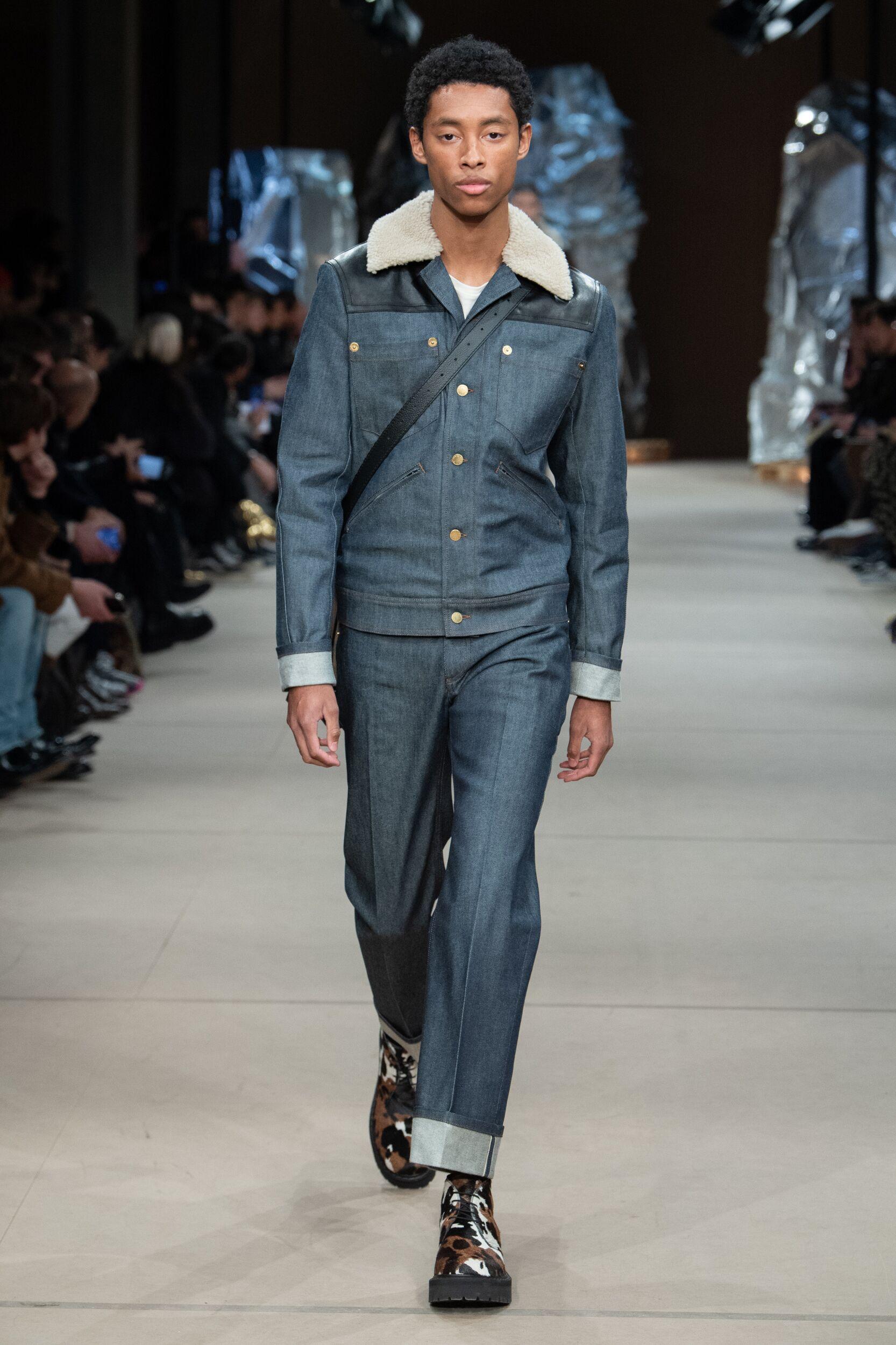 Catwalk Neil Barrett Man Fashion Show Winter 2020