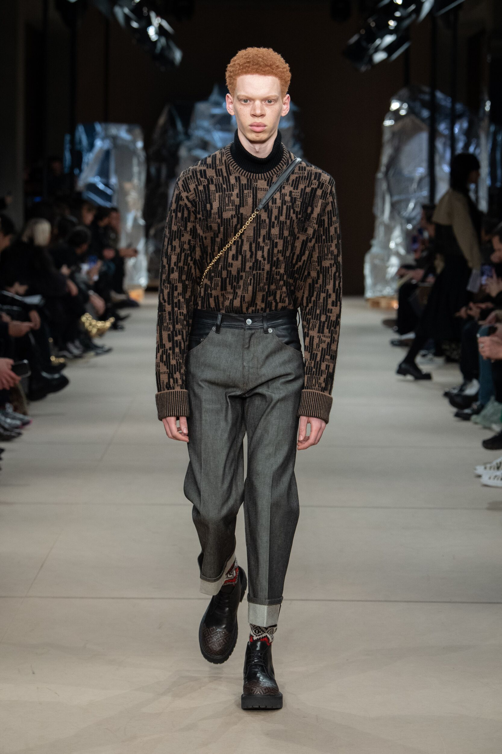 Catwalk Neil Barrett Men Fashion Show Winter 2020