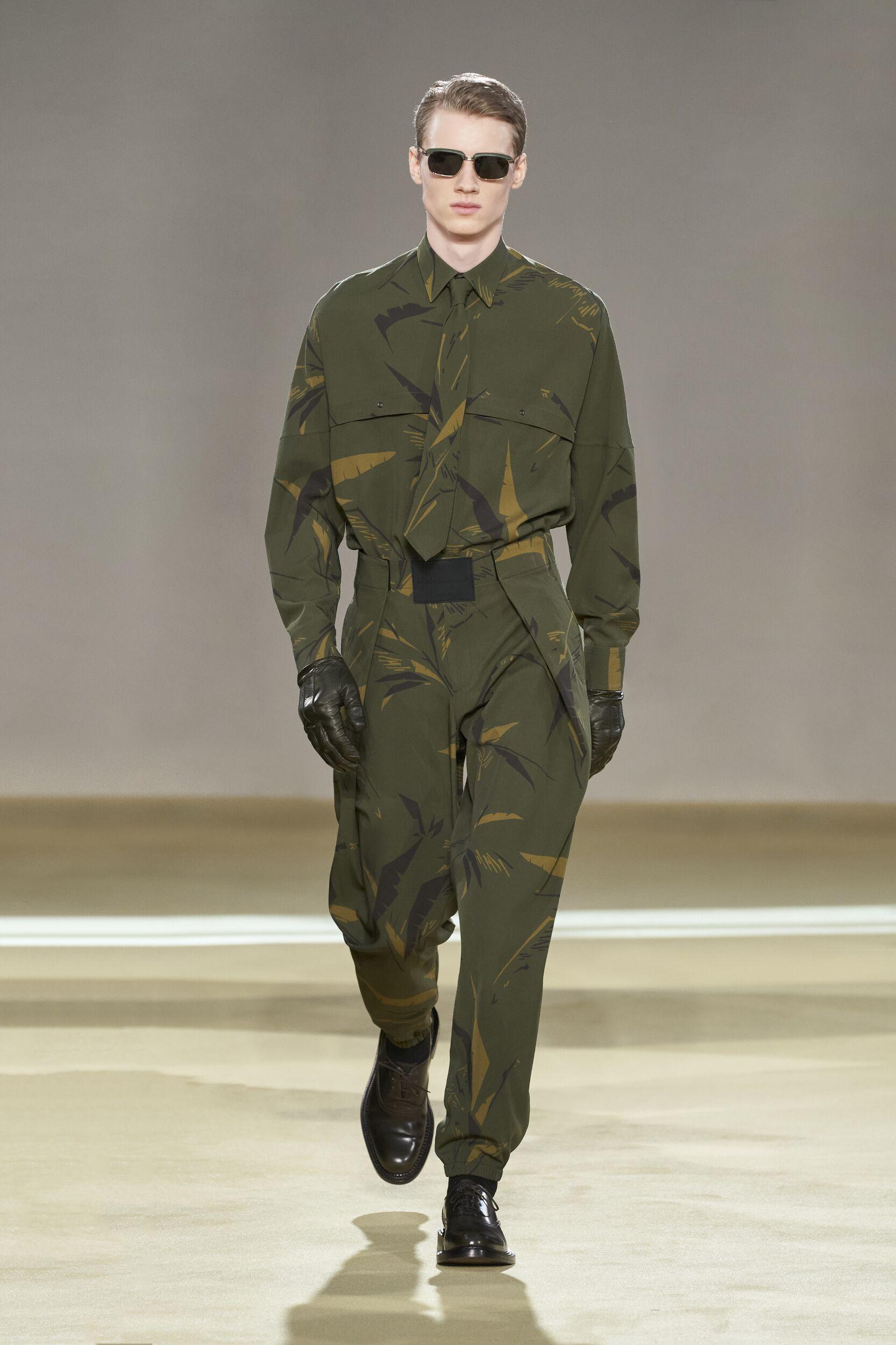 Catwalk Salvatore Ferragamo Man Fashion Show Winter 2020