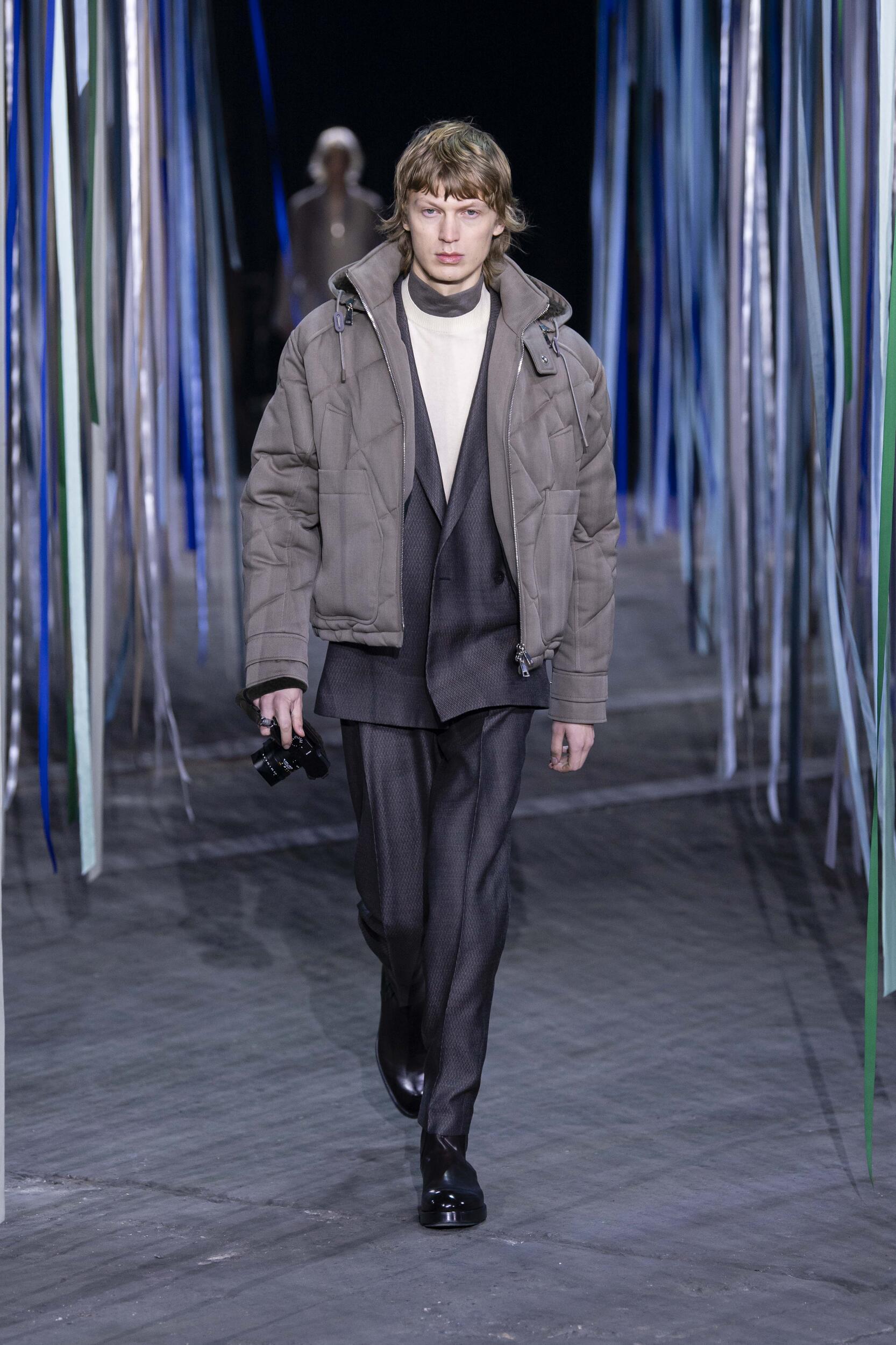 Ermenegildo Zegna XXX Milan Fashion Week Menswear Trends