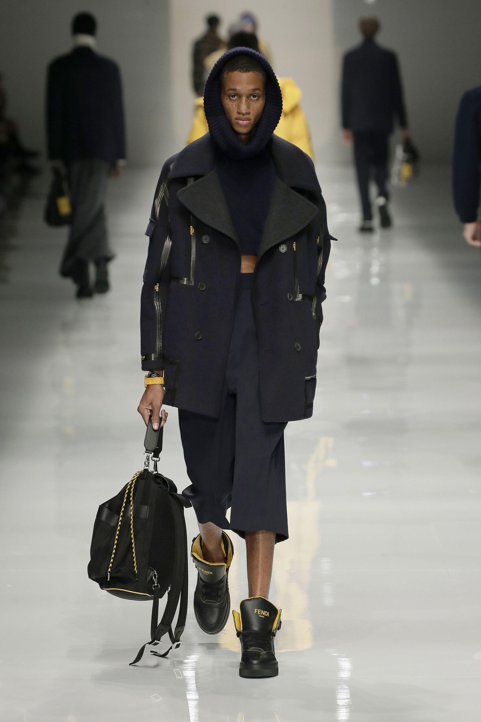 FW 2020-21 Fendi Fashion Show Milan