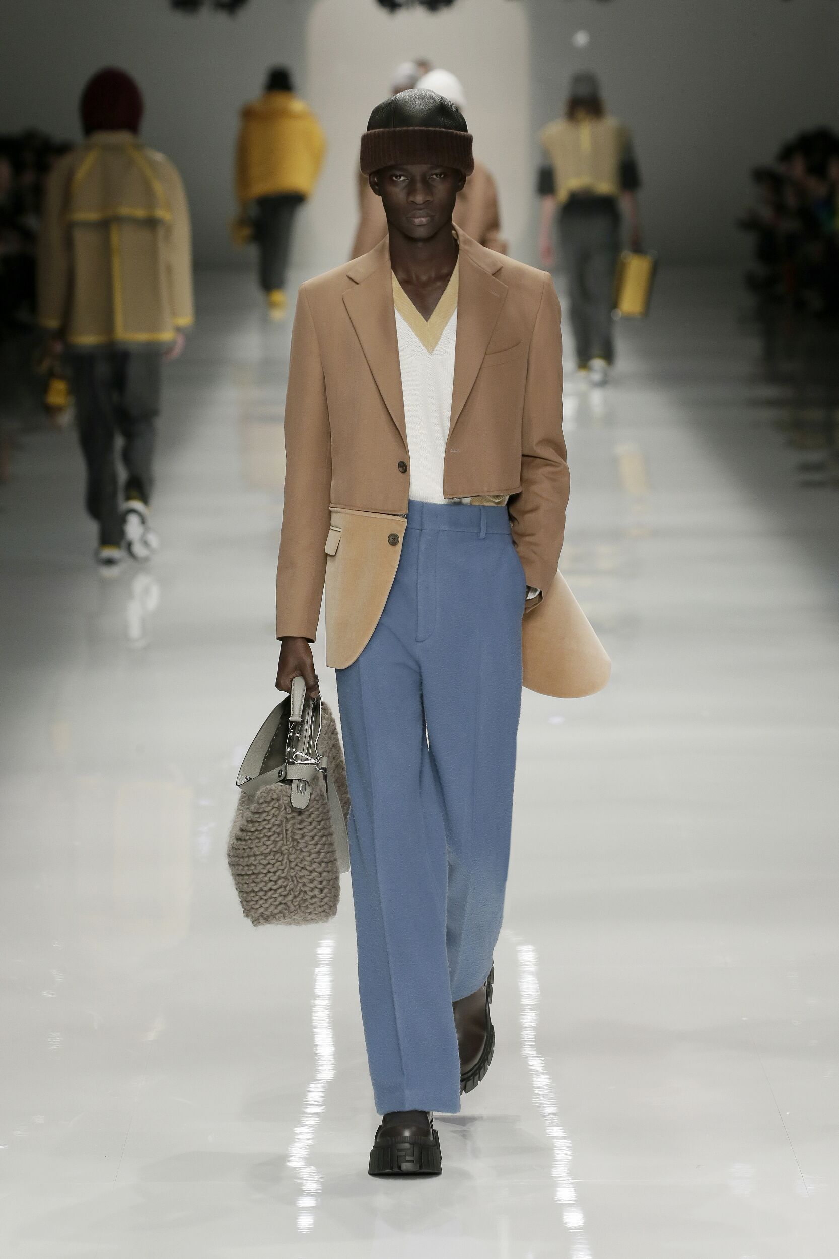 Fashion 2020 Runway Man Fendi Winter