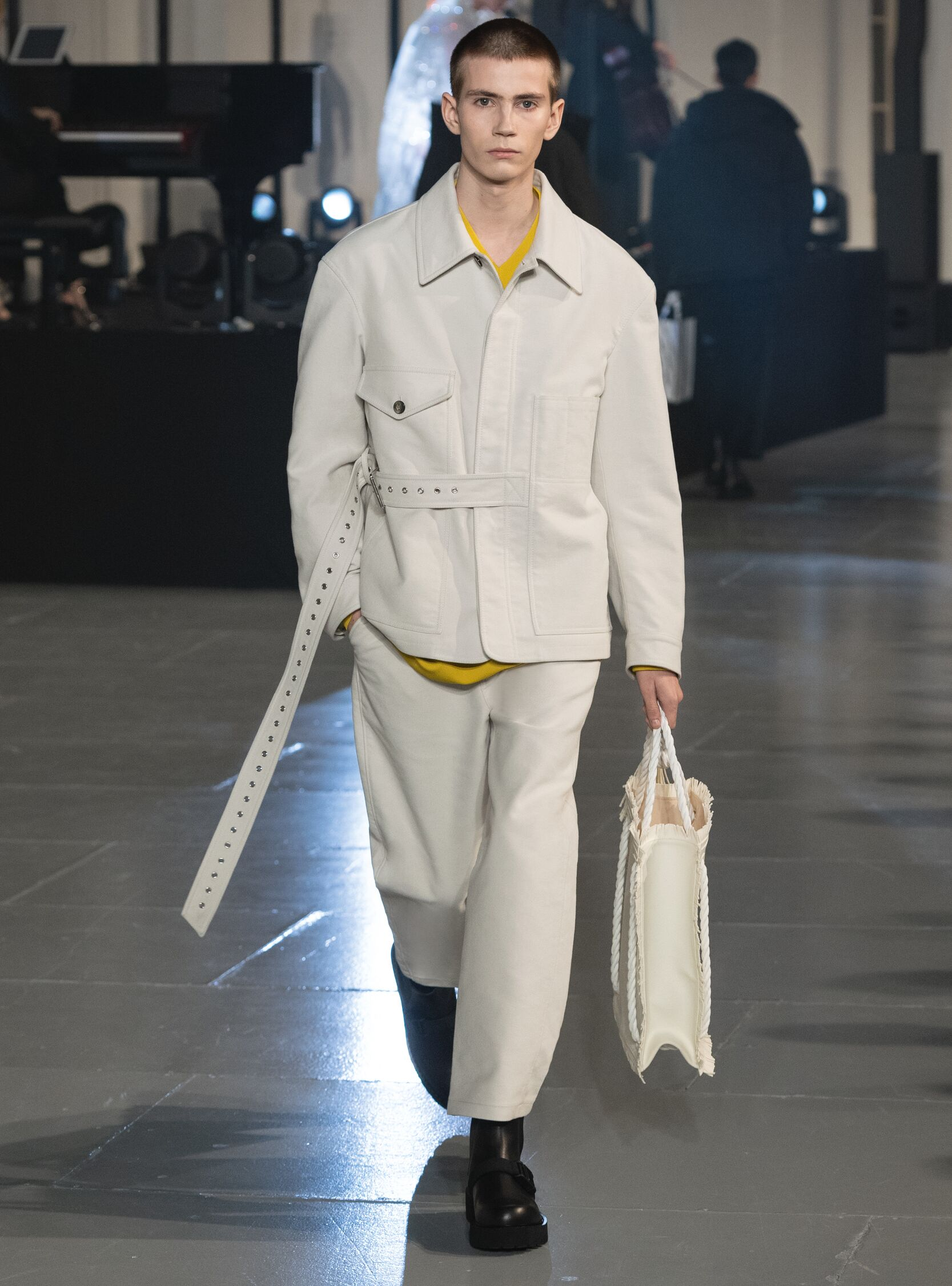 Fashion 2020 Runway Man Valentino Winter