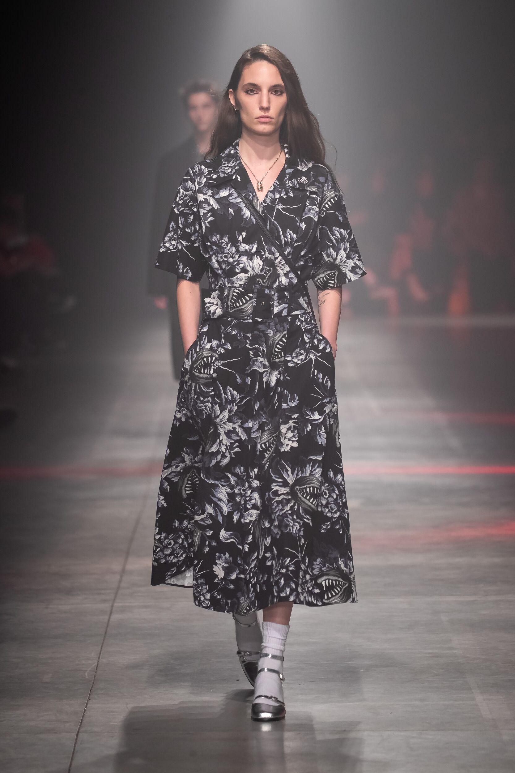 Fashion 2020 Runway Woman MSGM Winter